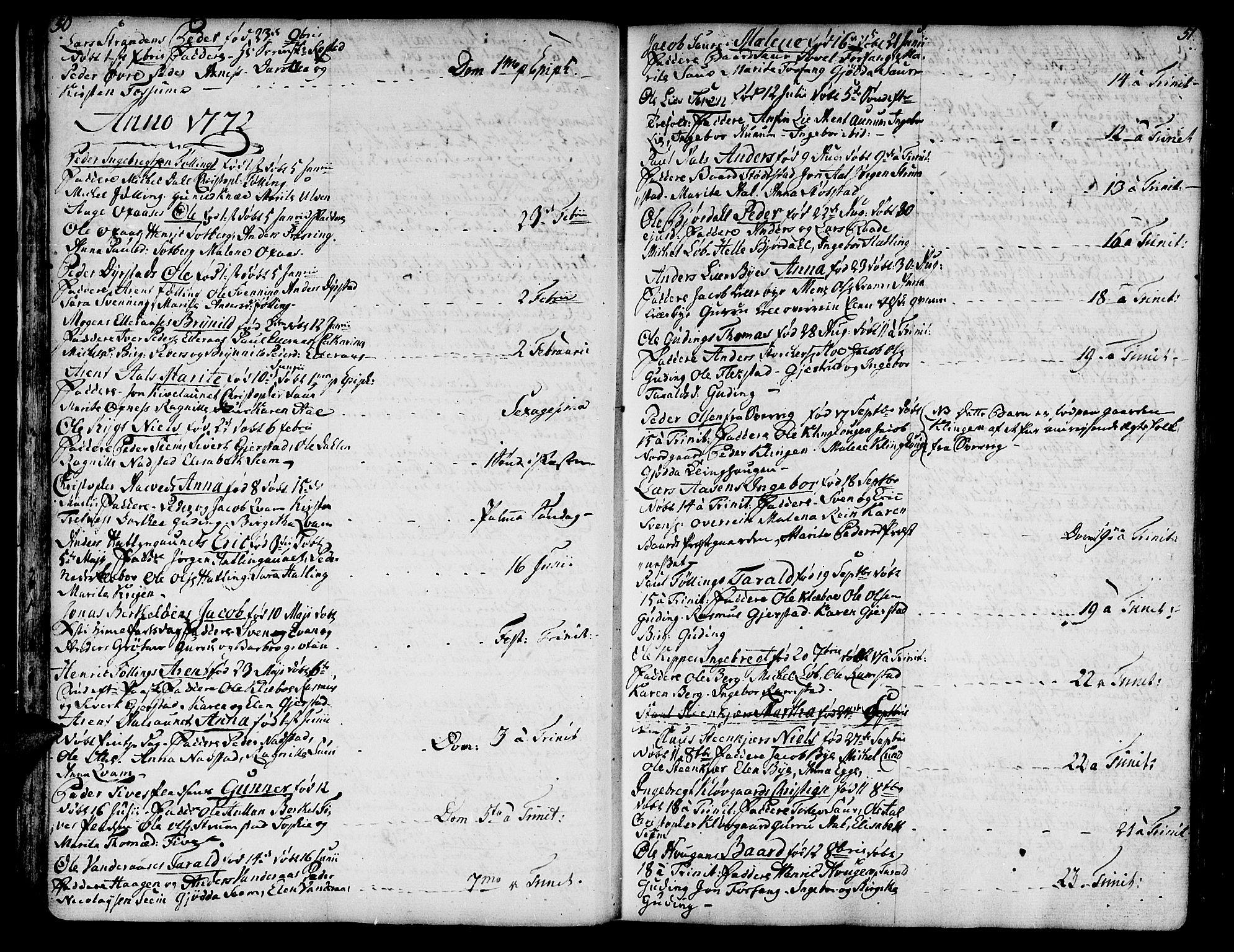 SAT, Ministerialprotokoller, klokkerbøker og fødselsregistre - Nord-Trøndelag, 746/L0440: Ministerialbok nr. 746A02, 1760-1815, s. 50-51