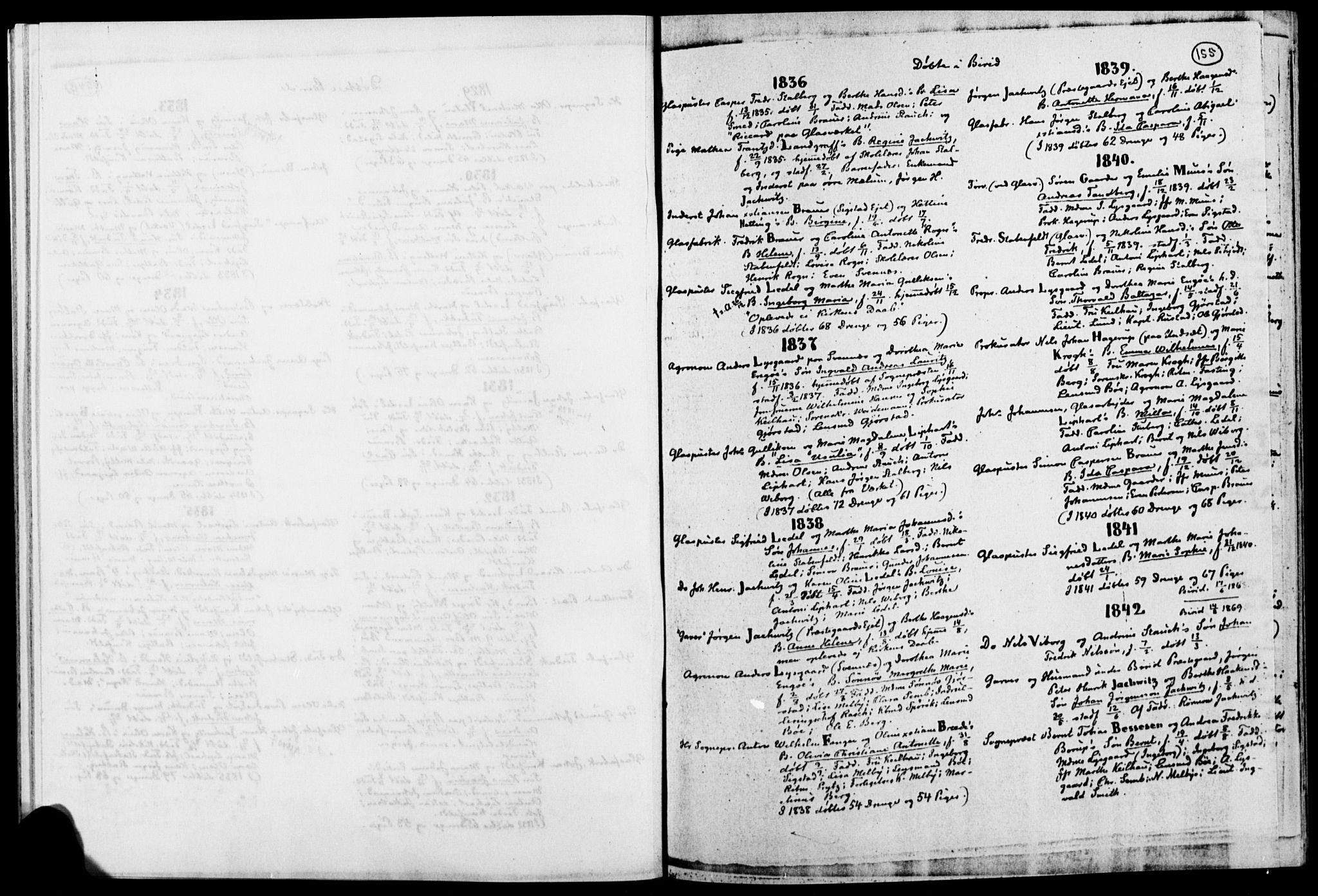 SAH, Biri prestekontor, Ministerialbok, 1730-1879, s. 155