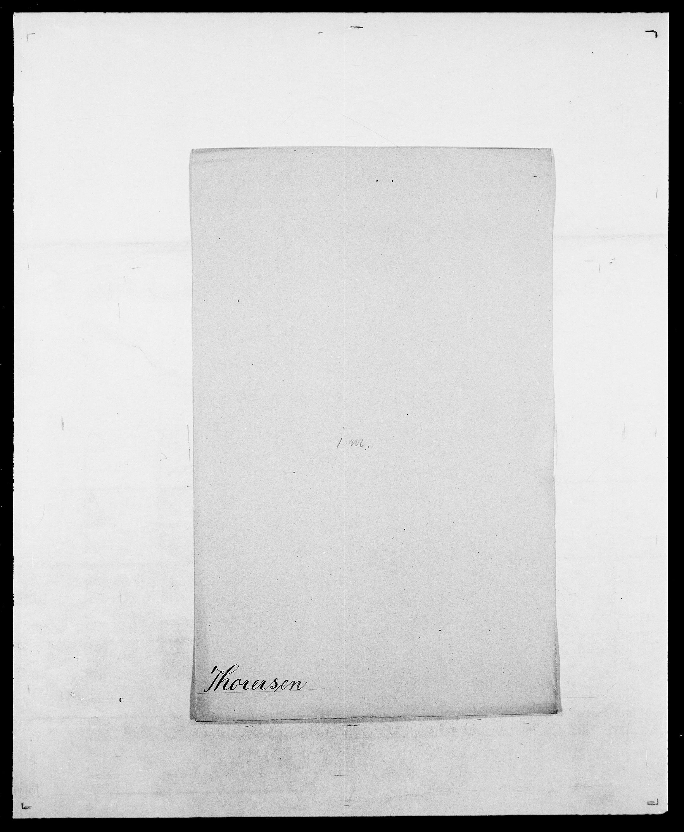 SAO, Delgobe, Charles Antoine - samling, D/Da/L0038: Svanenskjold - Thornsohn, s. 840