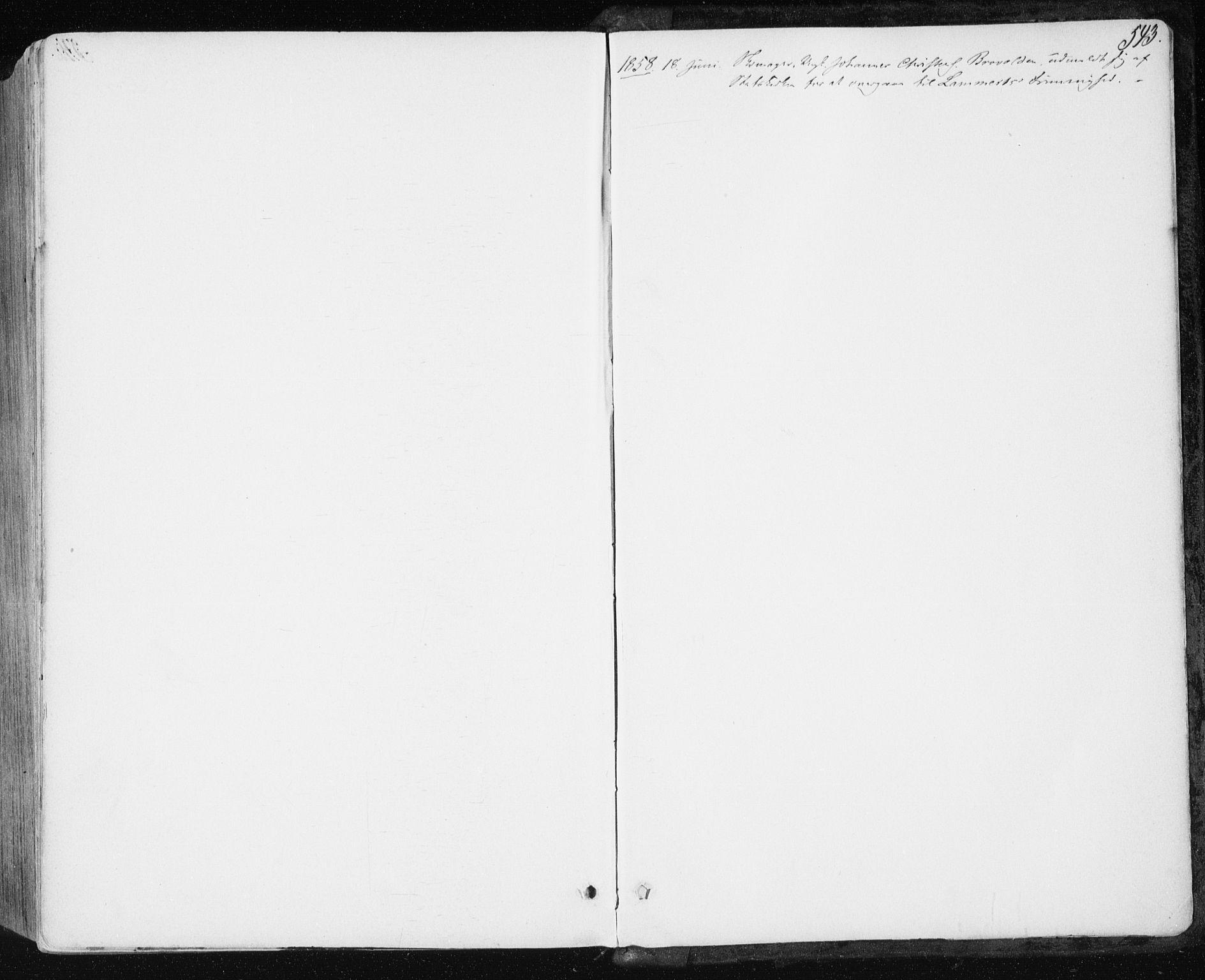 SAT, Ministerialprotokoller, klokkerbøker og fødselsregistre - Sør-Trøndelag, 659/L0737: Ministerialbok nr. 659A07, 1857-1875, s. 543