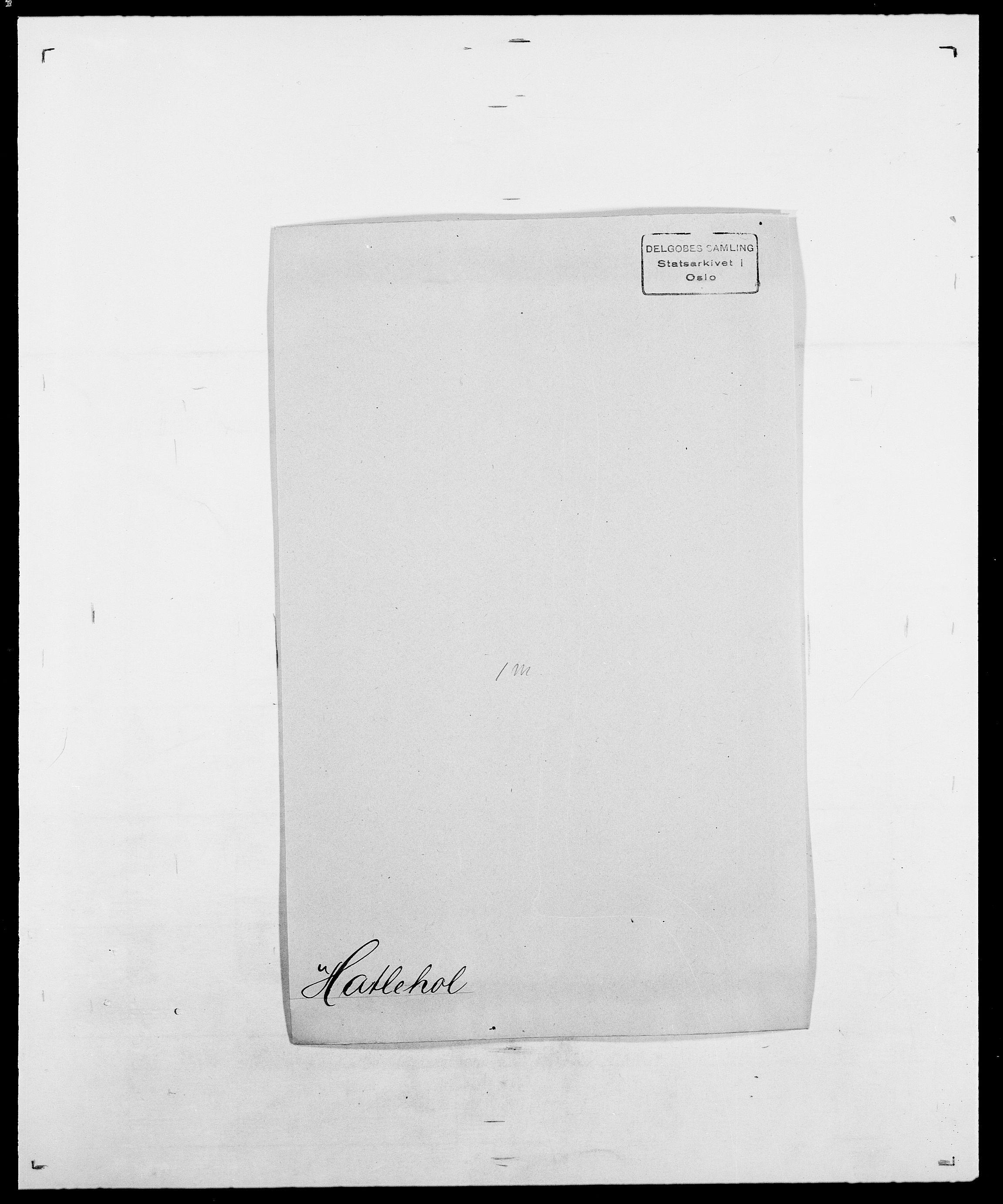 SAO, Delgobe, Charles Antoine - samling, D/Da/L0016: Hamborg - Hektoen, s. 574