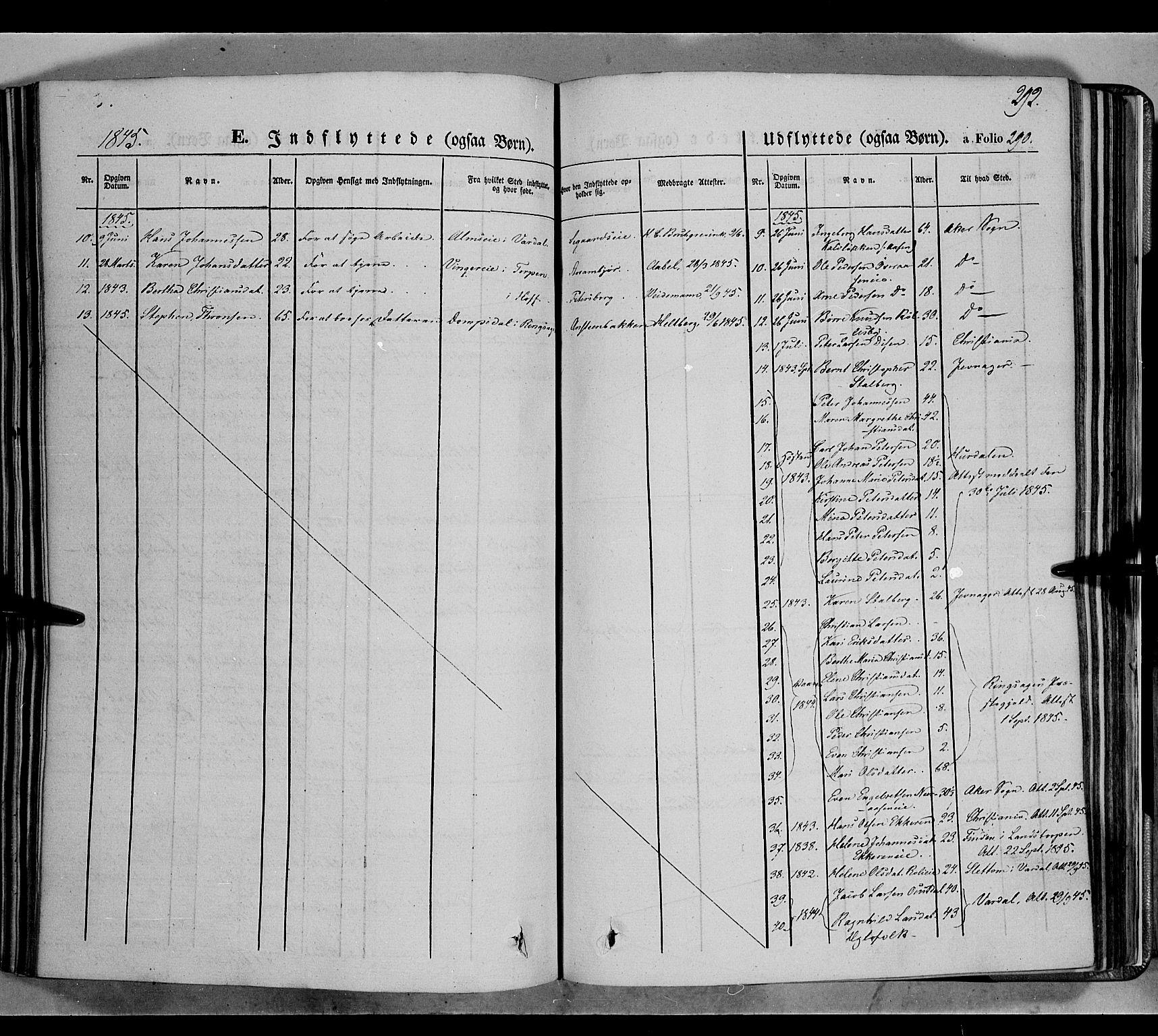 SAH, Biri prestekontor, Ministerialbok nr. 5, 1843-1854, s. 292