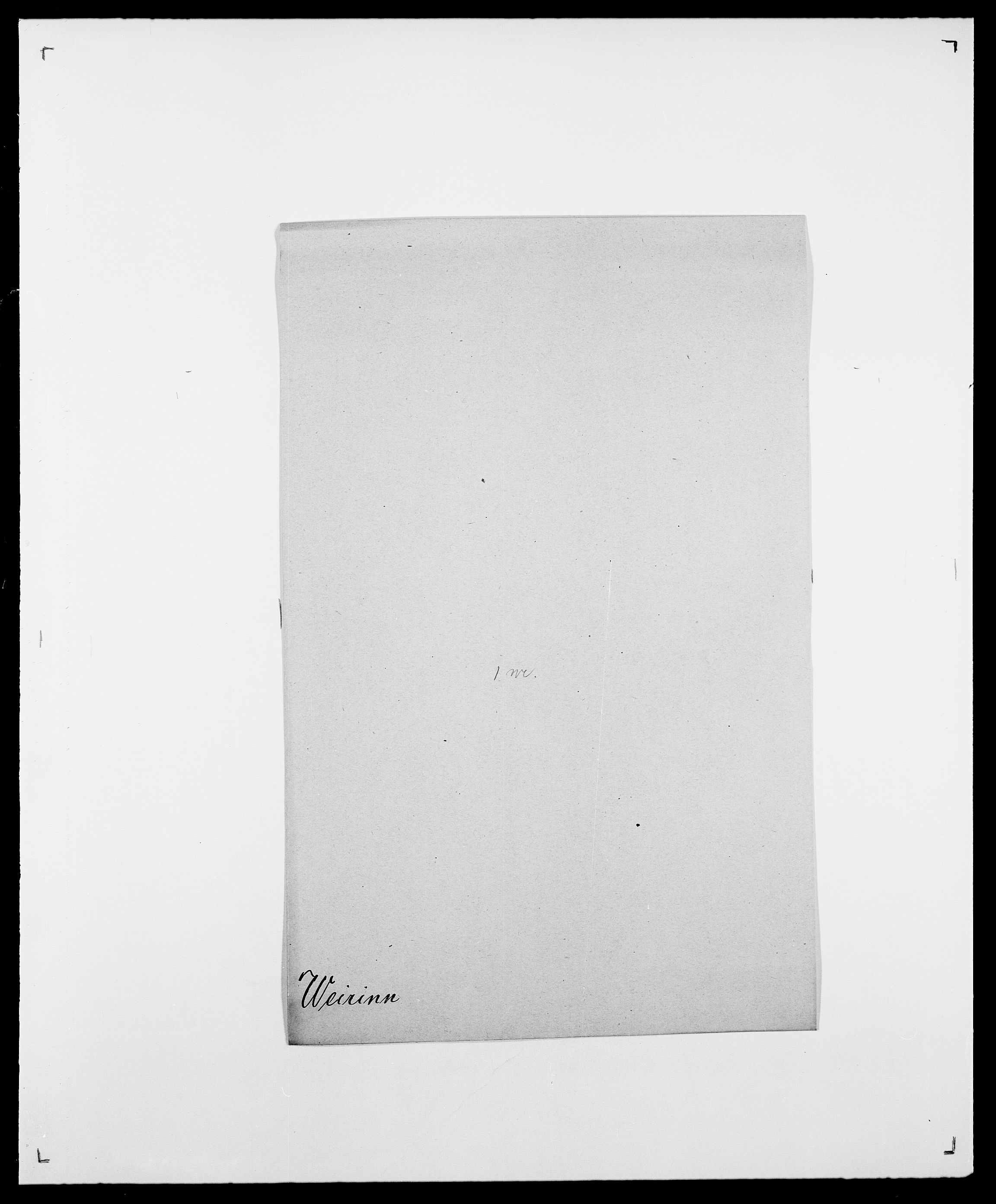 SAO, Delgobe, Charles Antoine - samling, D/Da/L0040: Usgaard - Velund, s. 605