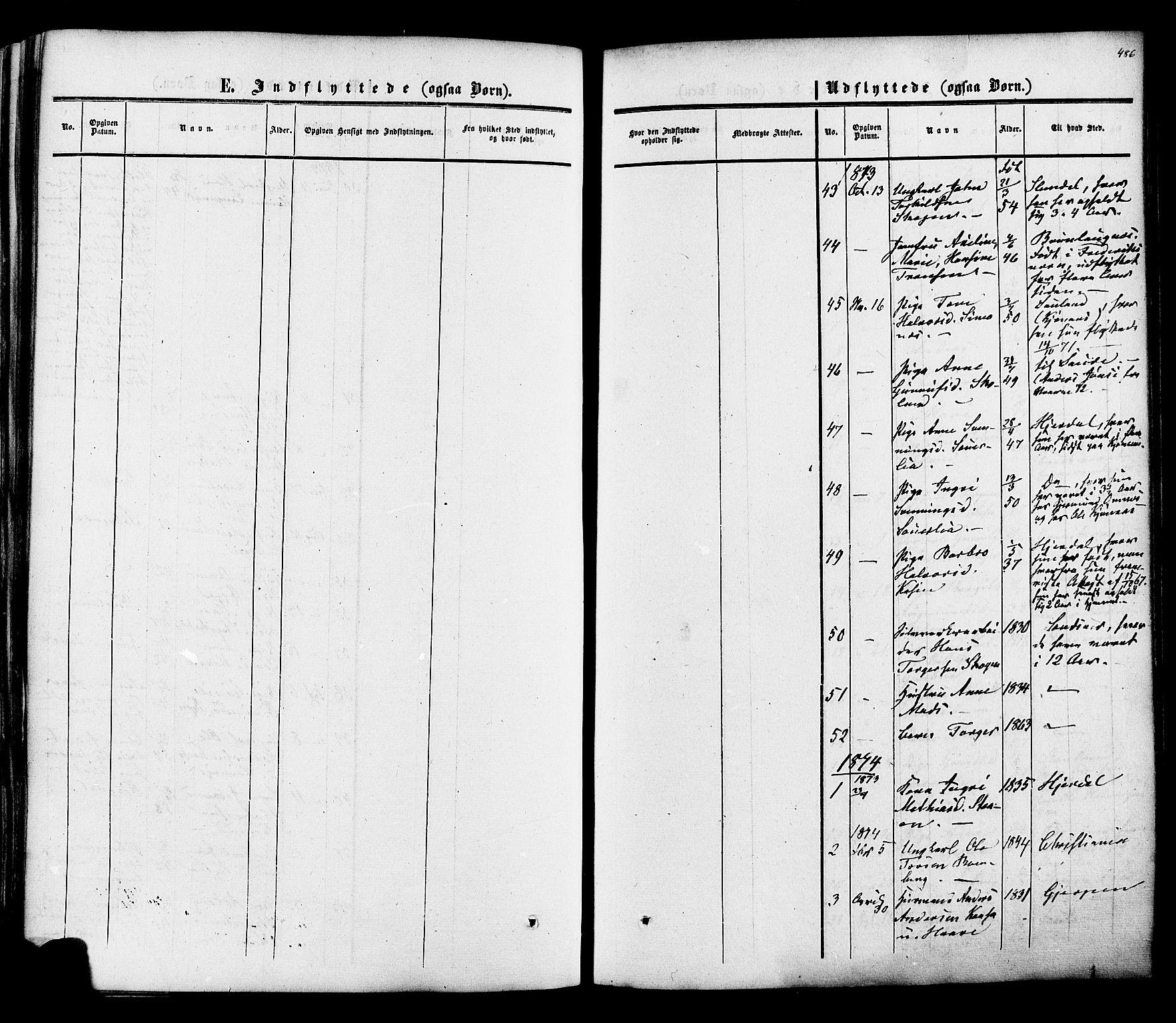 SAKO, Heddal kirkebøker, F/Fa/L0007: Ministerialbok nr. I 7, 1855-1877, s. 486