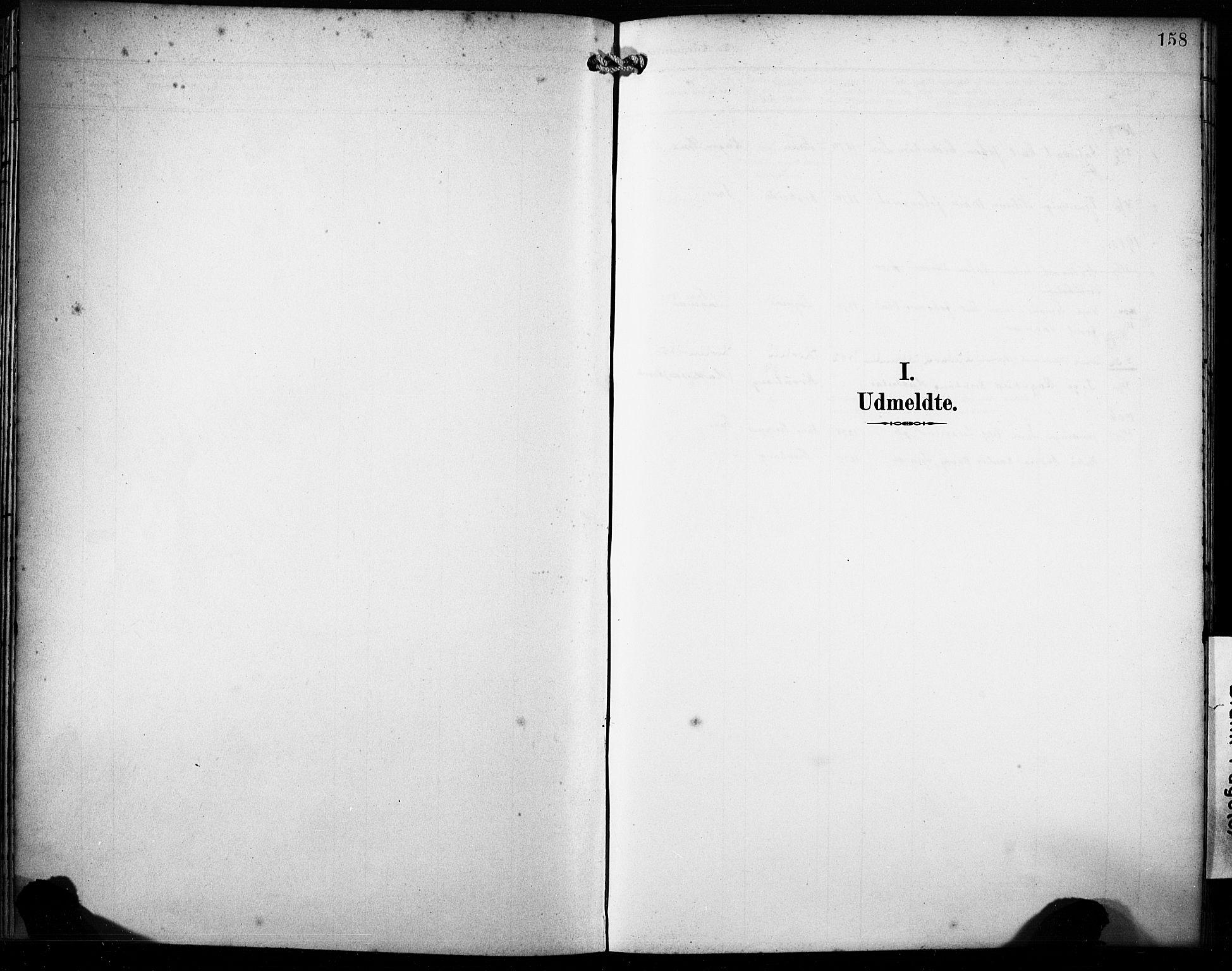 SAB, Fana Sokneprestembete, H/Haa/Haab/L0003: Ministerialbok nr. B 3, 1898-1907, s. 158