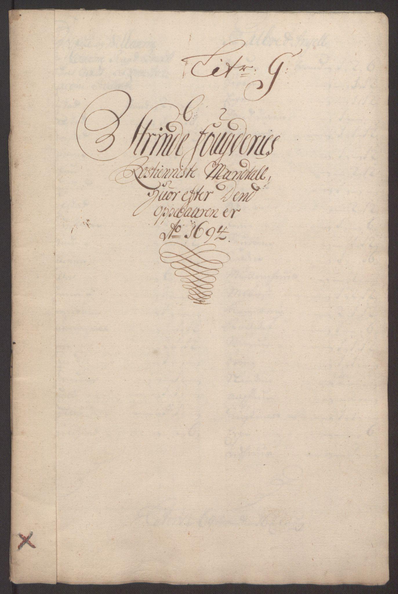 RA, Rentekammeret inntil 1814, Reviderte regnskaper, Fogderegnskap, R61/L4104: Fogderegnskap Strinda og Selbu, 1693-1694, s. 241