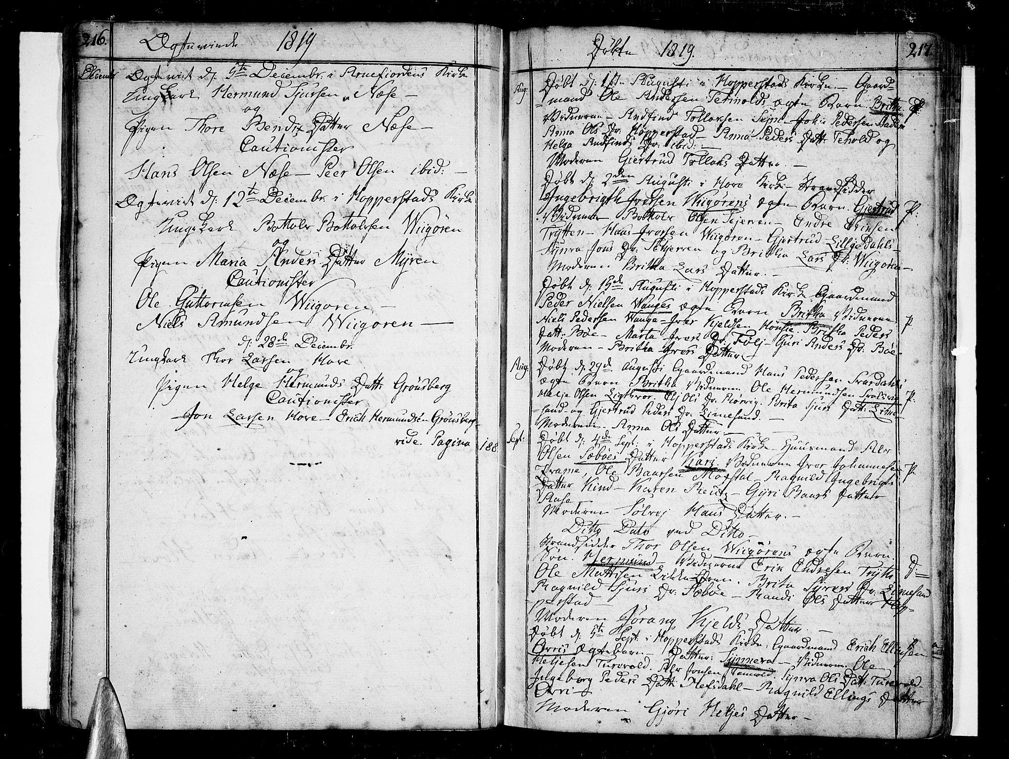 SAB, Vik Sokneprestembete, Ministerialbok nr. A 5, 1787-1820, s. 216-217