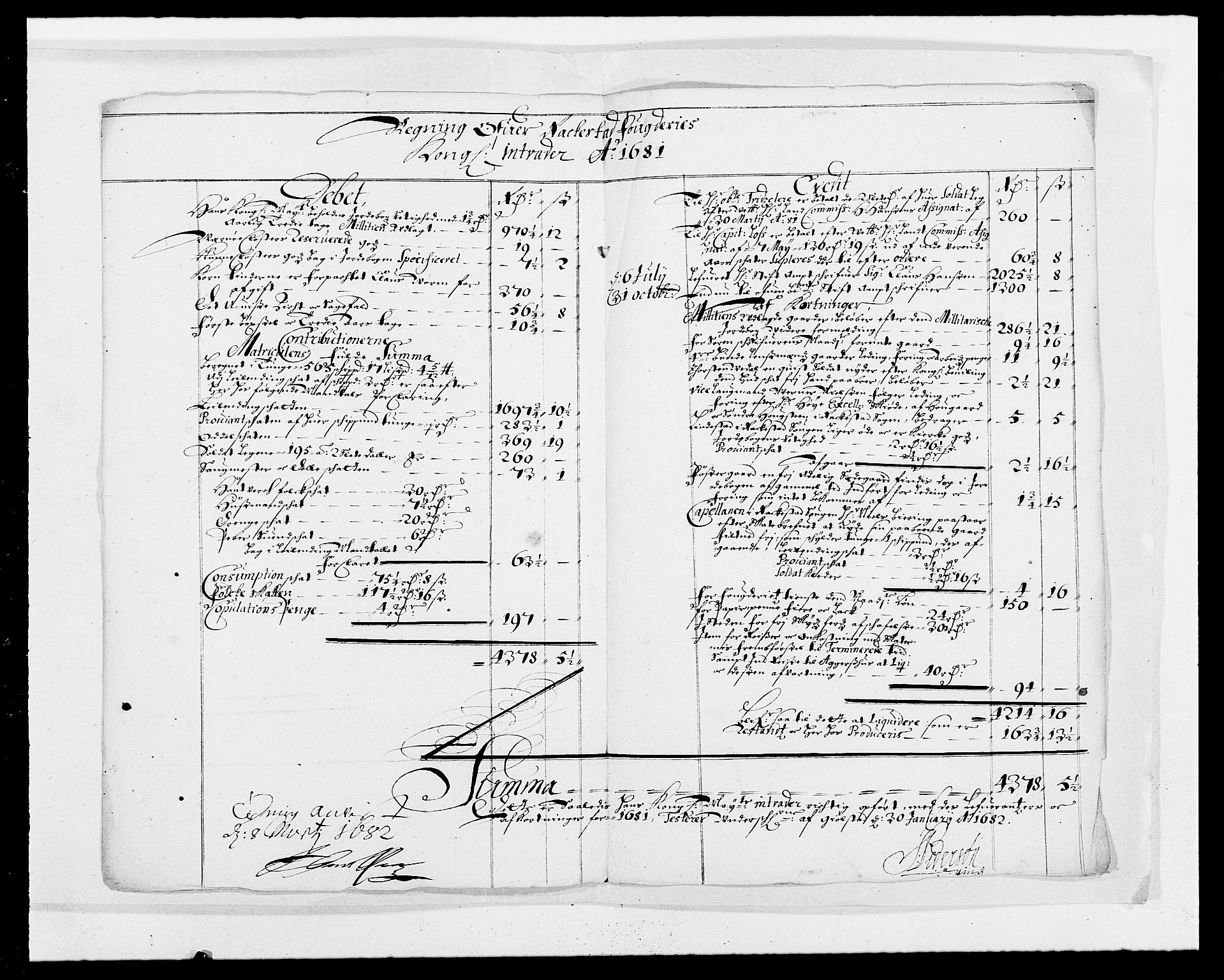 RA, Rentekammeret inntil 1814, Reviderte regnskaper, Fogderegnskap, R05/L0272: Fogderegnskap Rakkestad, 1680-1681, s. 209