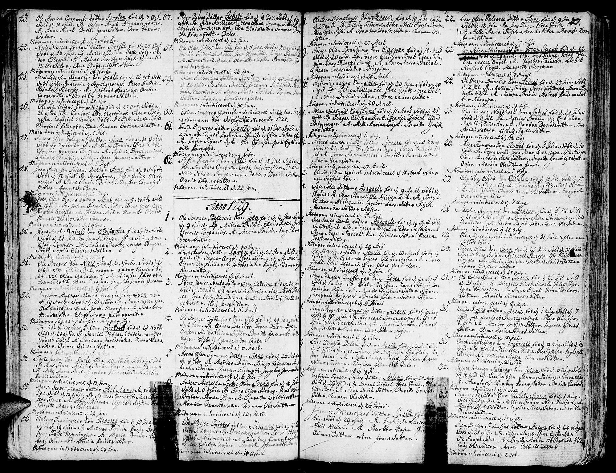 SAT, Ministerialprotokoller, klokkerbøker og fødselsregistre - Sør-Trøndelag, 681/L0925: Ministerialbok nr. 681A03, 1727-1766, s. 27