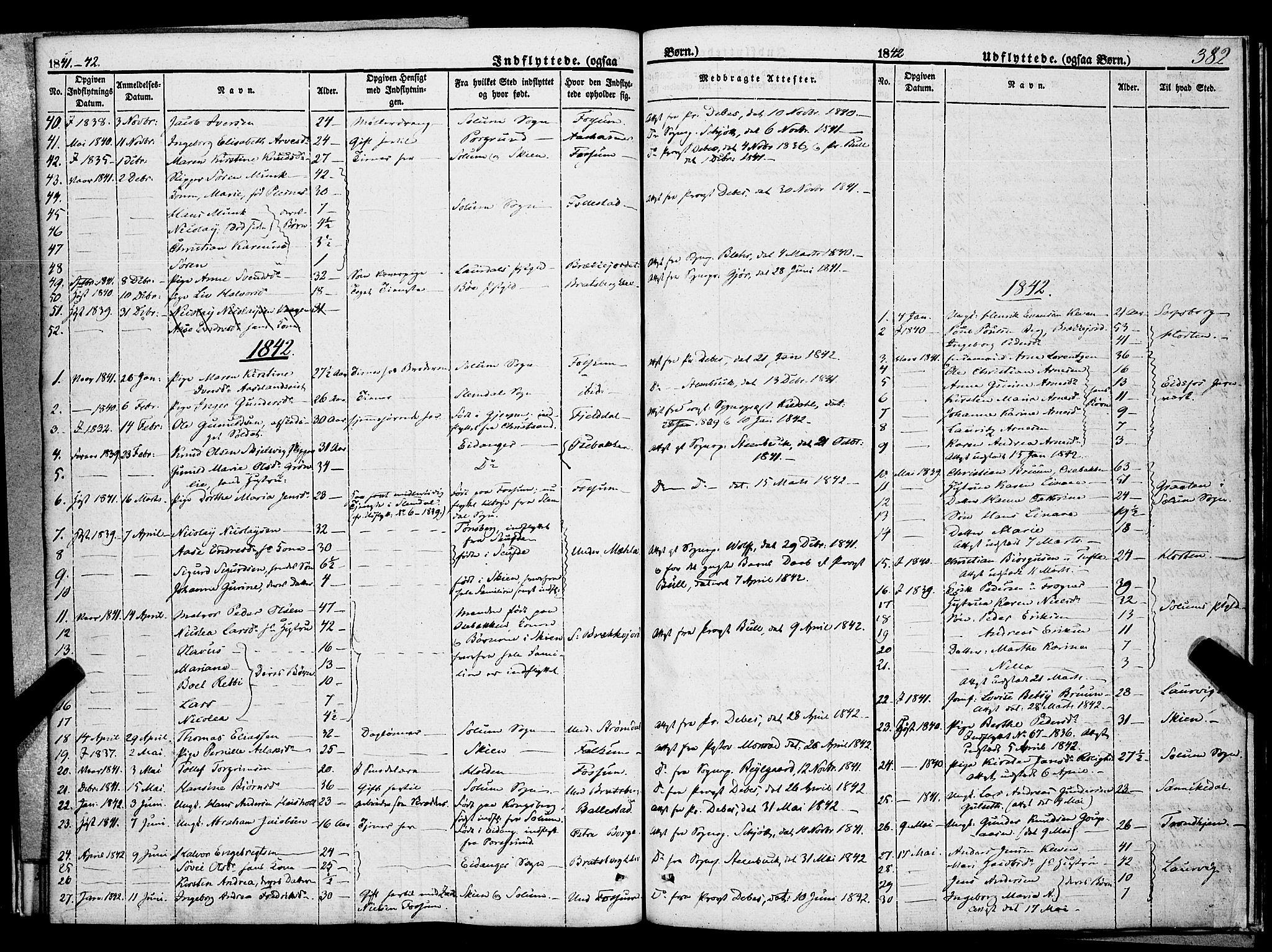 SAKO, Gjerpen kirkebøker, F/Fa/L0007b: Ministerialbok nr. 7B, 1834-1857, s. 382