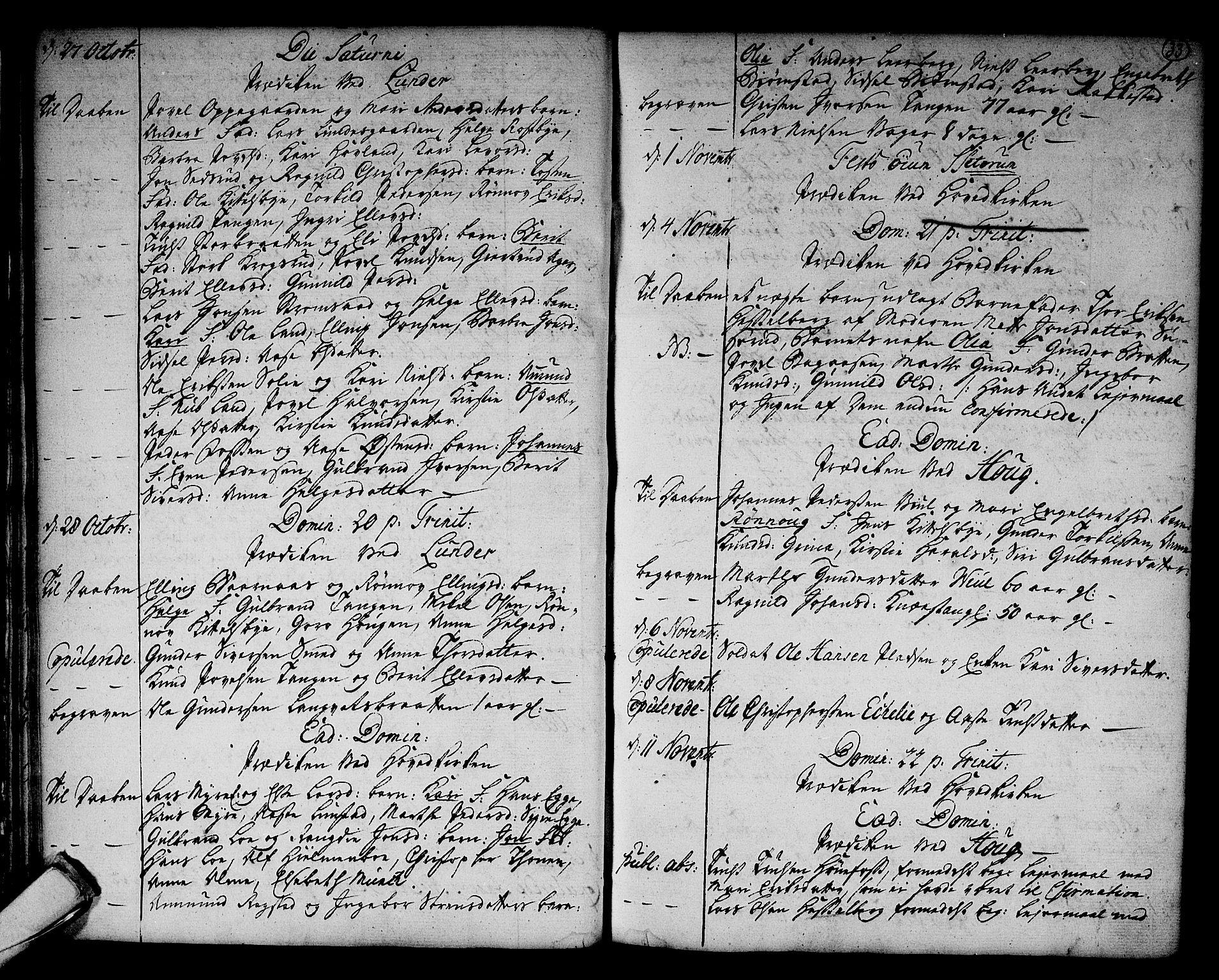 SAKO, Norderhov kirkebøker, F/Fa/L0004: Ministerialbok nr. 4, 1758-1774, s. 33