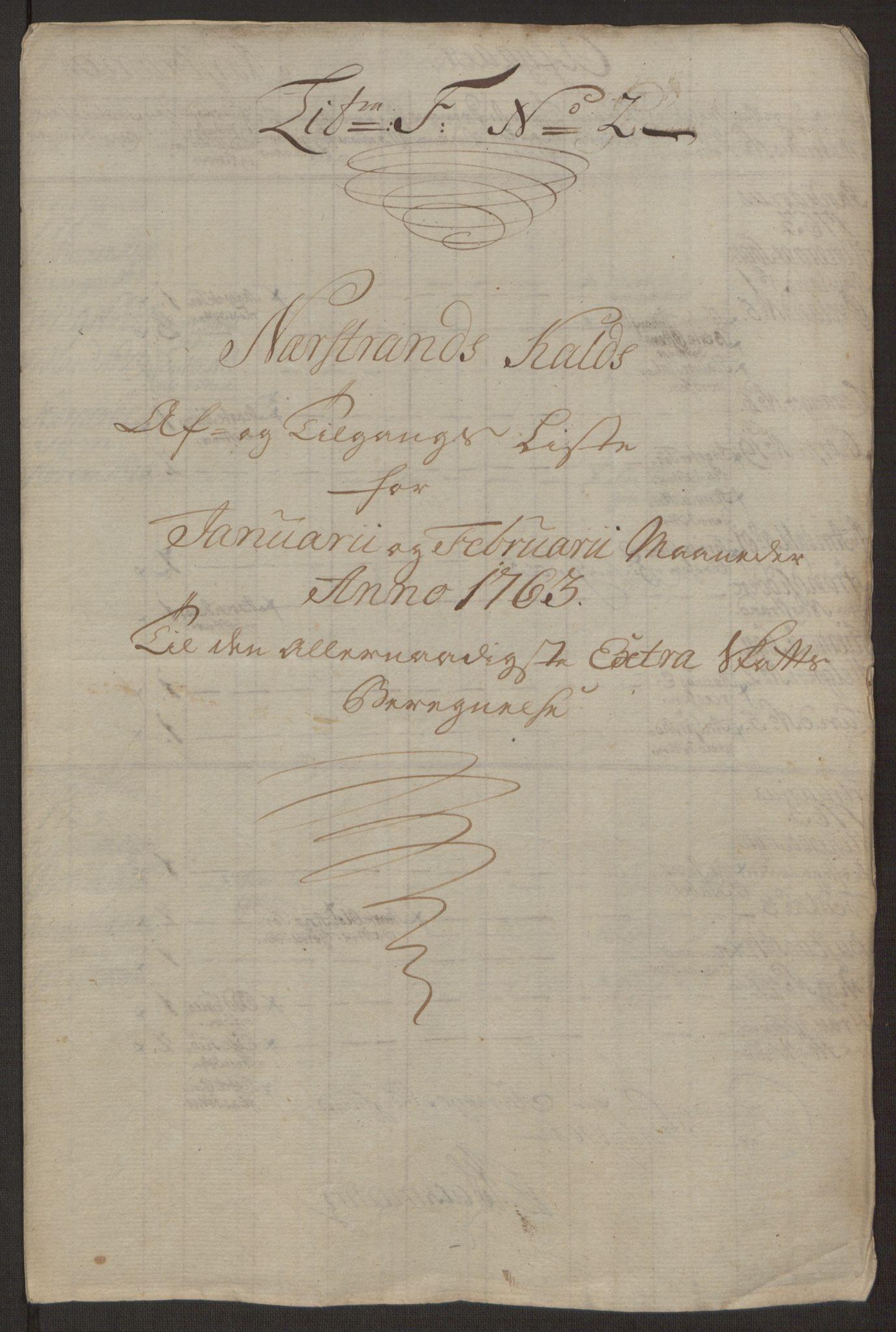 RA, Rentekammeret inntil 1814, Realistisk ordnet avdeling, Ol/L0016a: [Gg 10]: Ekstraskatten, 23.09.1762. Ryfylke, 1762-1768, s. 406