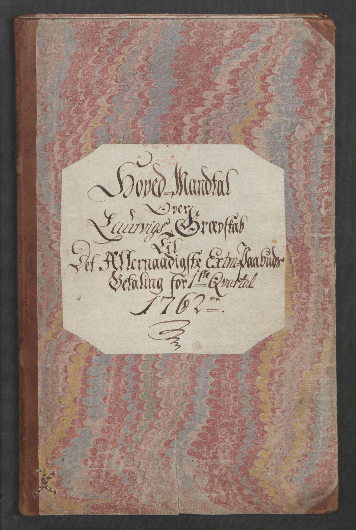 RA, Rentekammeret inntil 1814, Reviderte regnskaper, Fogderegnskap, R33/L2033: Ekstraskatten Larvik grevskap, 1762-1764, s. 15