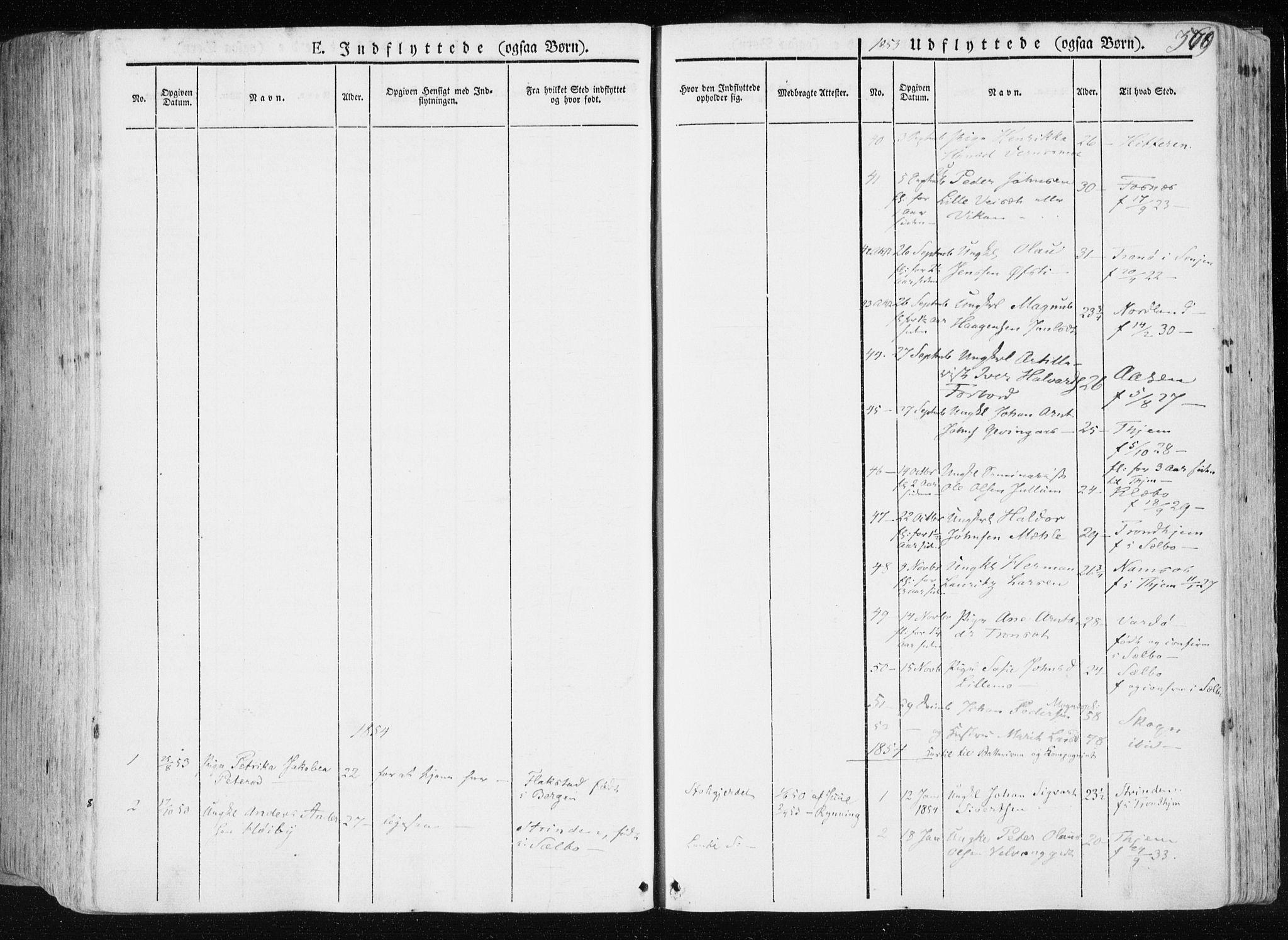SAT, Ministerialprotokoller, klokkerbøker og fødselsregistre - Nord-Trøndelag, 709/L0074: Ministerialbok nr. 709A14, 1845-1858, s. 569