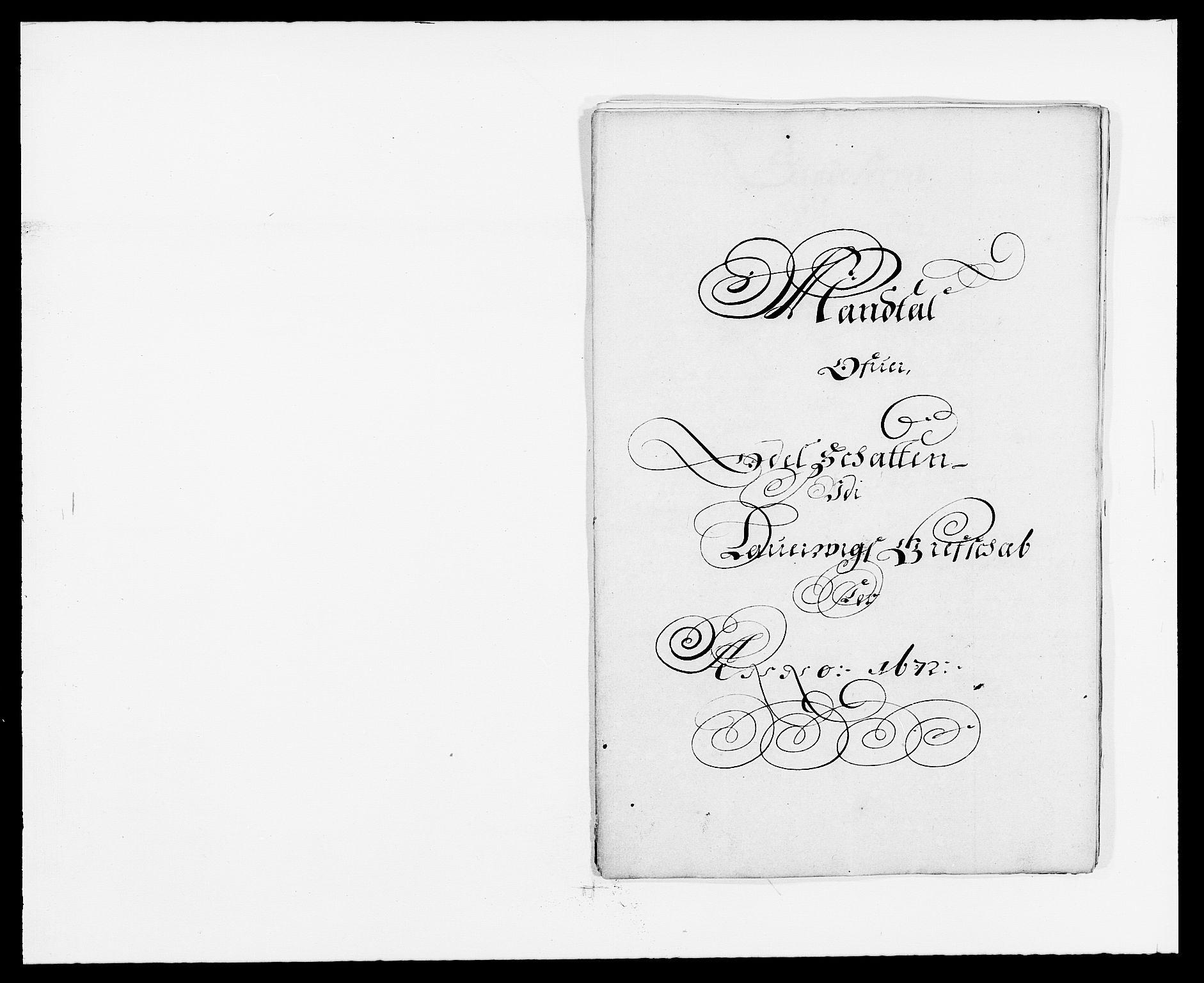 RA, Rentekammeret inntil 1814, Reviderte regnskaper, Fogderegnskap, R33/L1966: Fogderegnskap Larvik grevskap, 1672-1674, s. 62