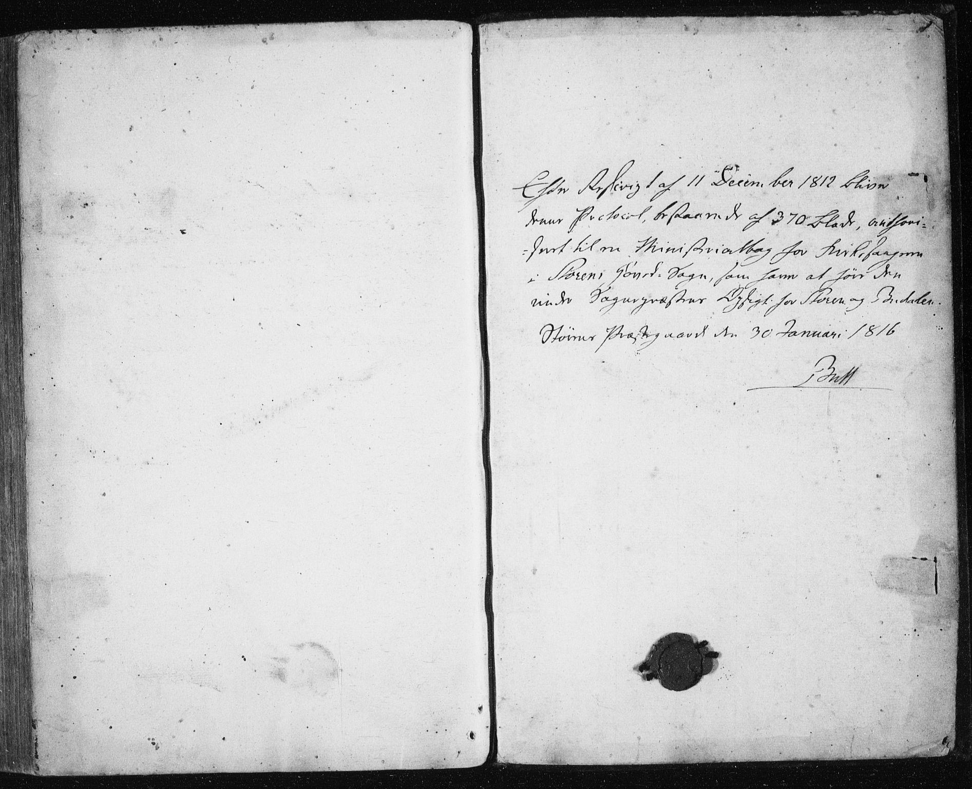 SAT, Ministerialprotokoller, klokkerbøker og fødselsregistre - Sør-Trøndelag, 687/L1017: Klokkerbok nr. 687C01, 1816-1837