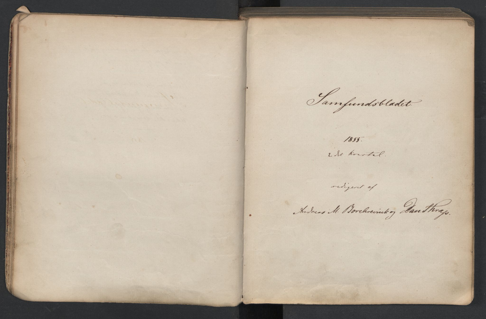 RA, Det Norske Studentersamfund, X/Xa/L0005, 1855-1856, s. 13
