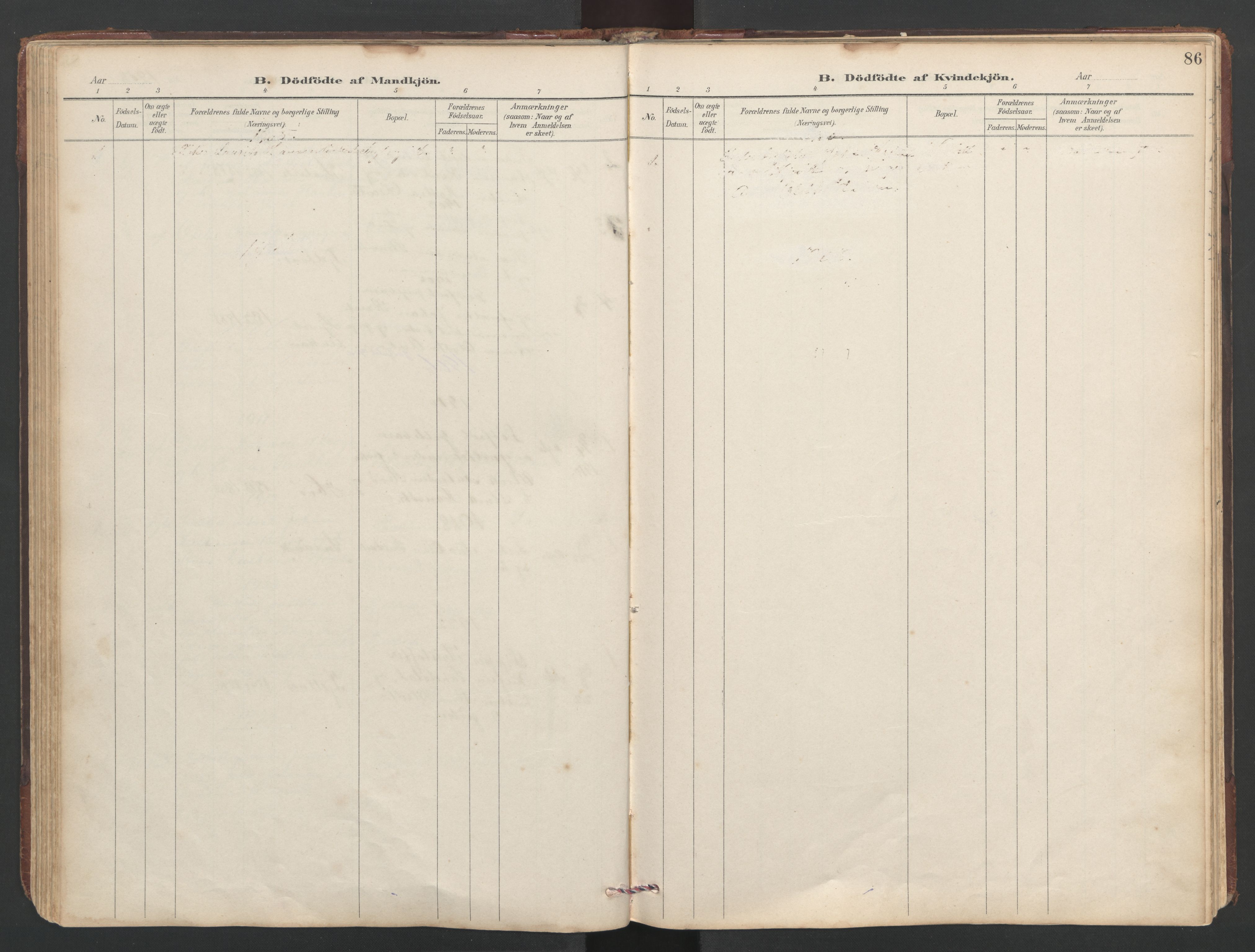 SAT, Ministerialprotokoller, klokkerbøker og fødselsregistre - Sør-Trøndelag, 638/L0571: Klokkerbok nr. 638C03, 1901-1930, s. 86