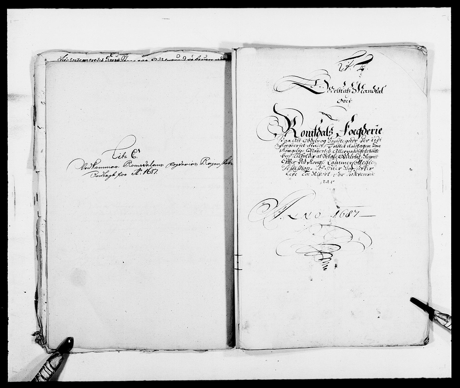 RA, Rentekammeret inntil 1814, Reviderte regnskaper, Fogderegnskap, R55/L3648: Fogderegnskap Romsdal, 1687-1689, s. 71