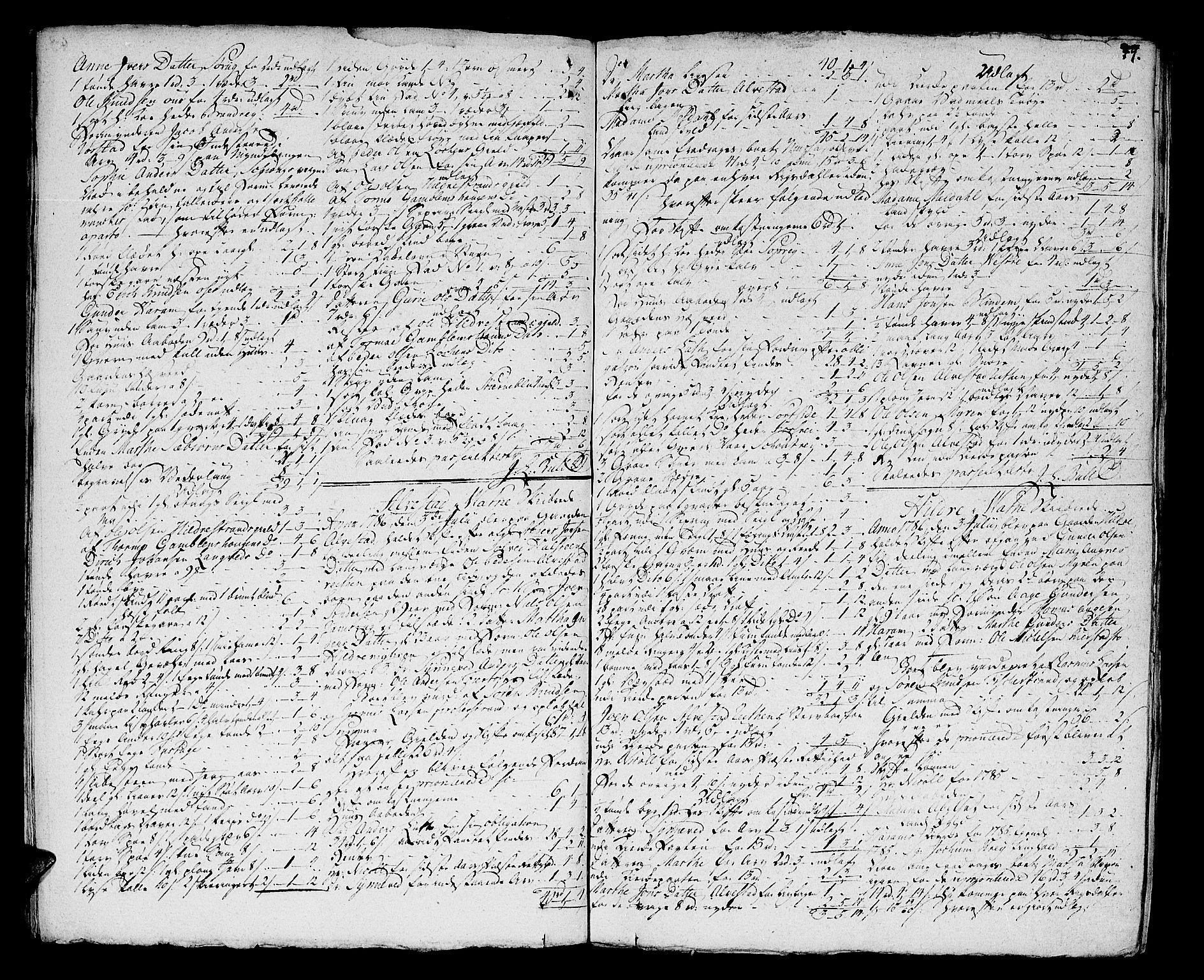 SAT, Sunnmøre sorenskriveri, 3/3A/L0028: Skifteprotokoll 19, 1785-1788, s. 48b-49a
