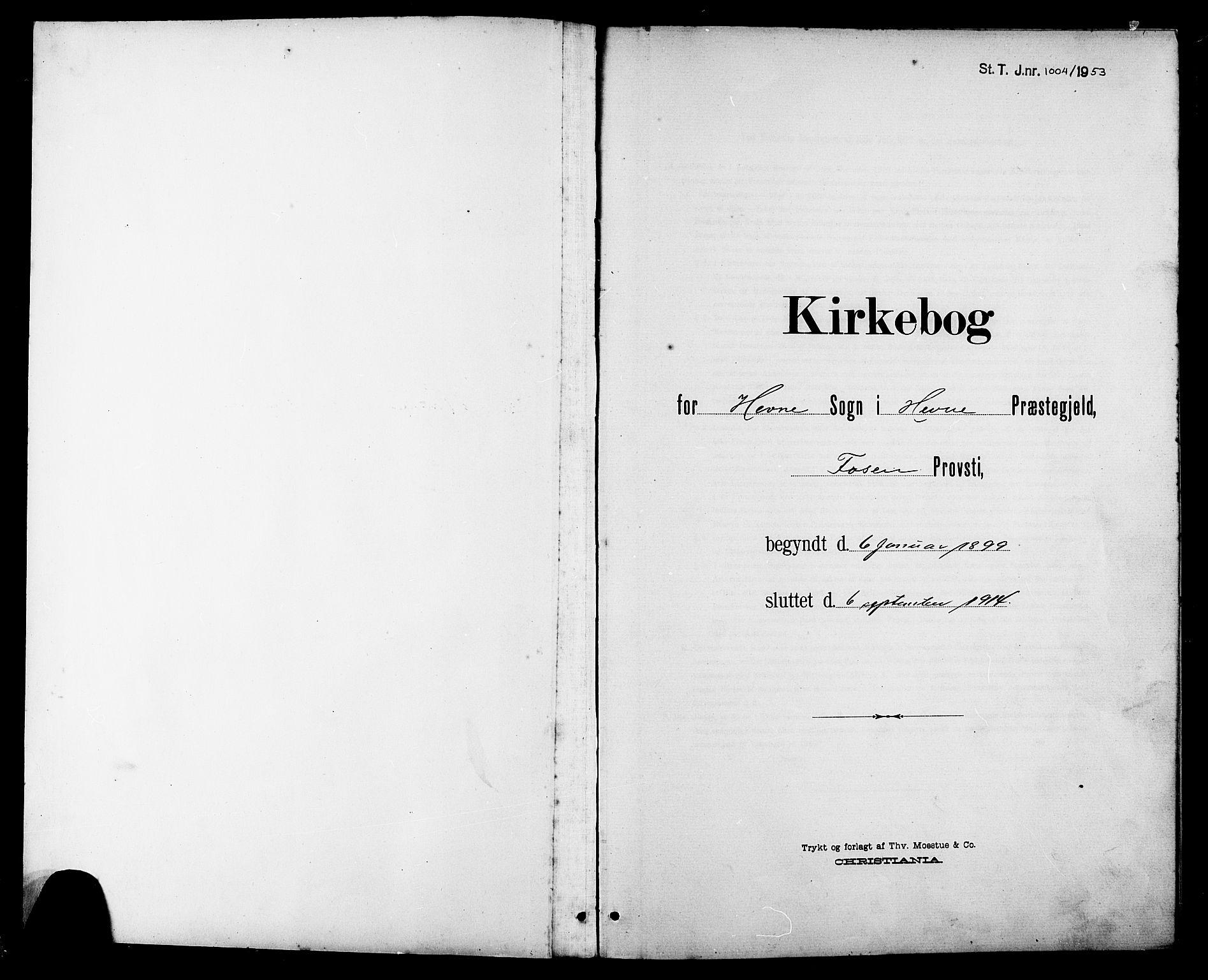 SAT, Ministerialprotokoller, klokkerbøker og fødselsregistre - Sør-Trøndelag, 630/L0505: Klokkerbok nr. 630C03, 1899-1914
