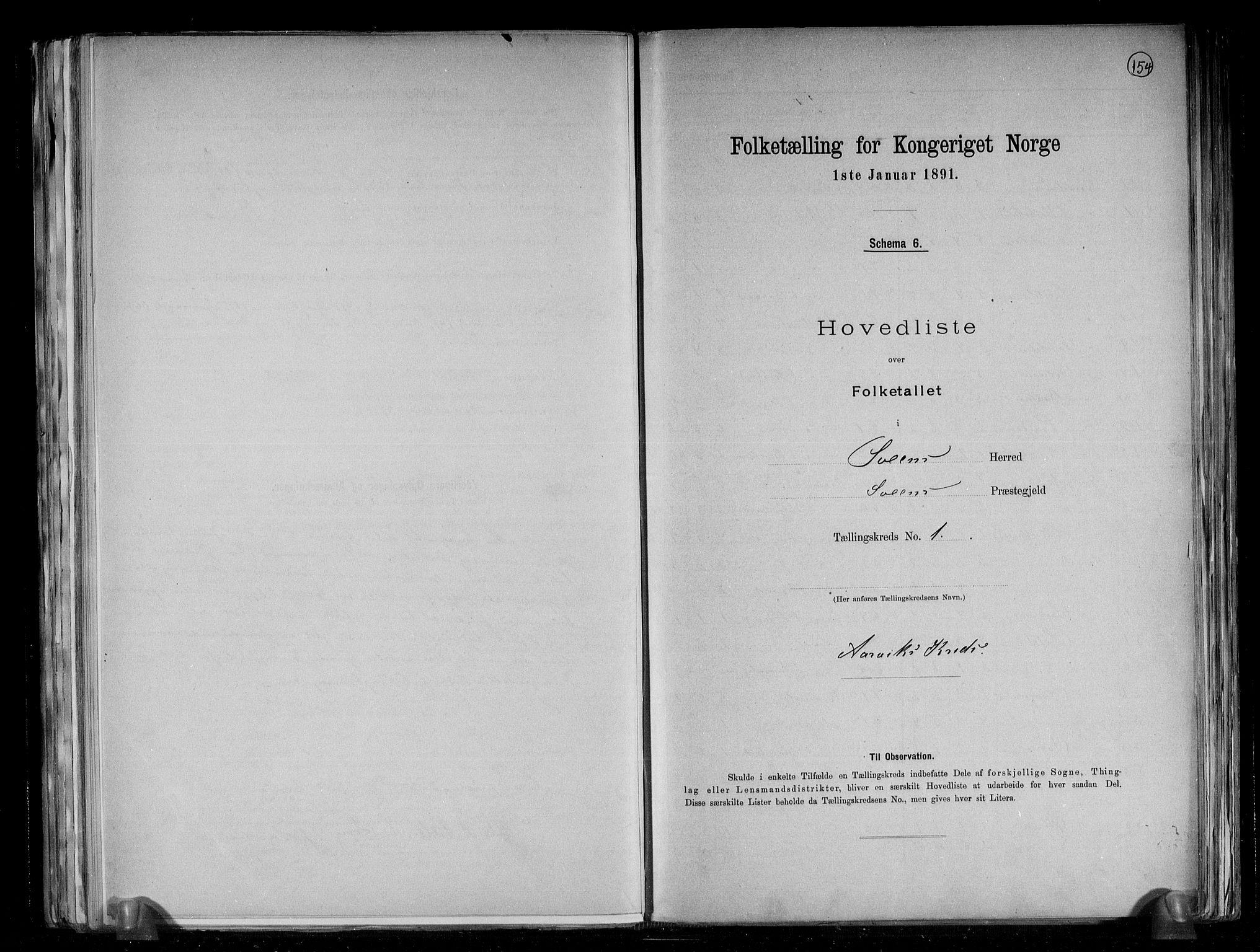 RA, Folketelling 1891 for 1216 Sveio herred, 1891, s. 4