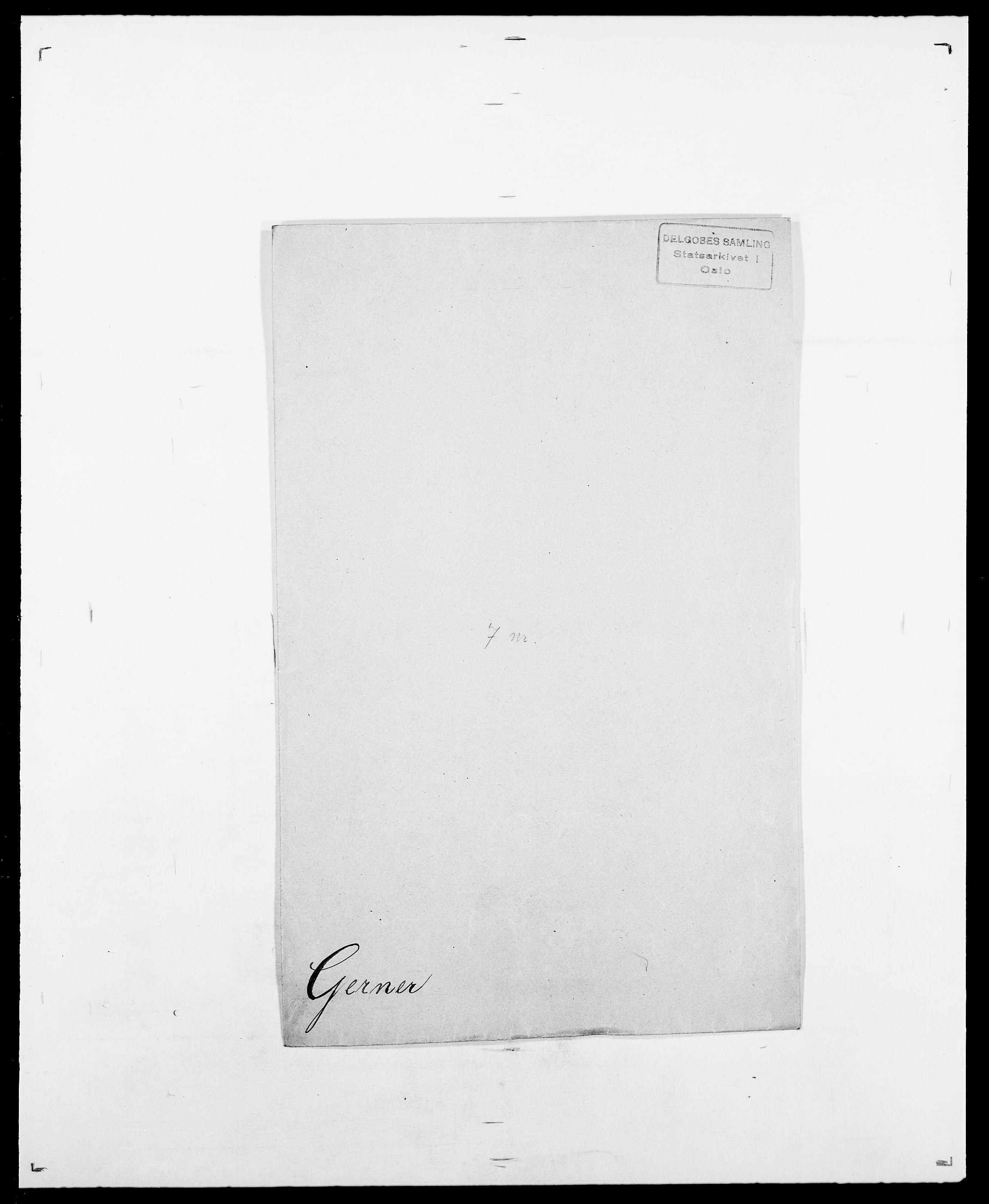 SAO, Delgobe, Charles Antoine - samling, D/Da/L0013: Forbos - Geving, s. 624