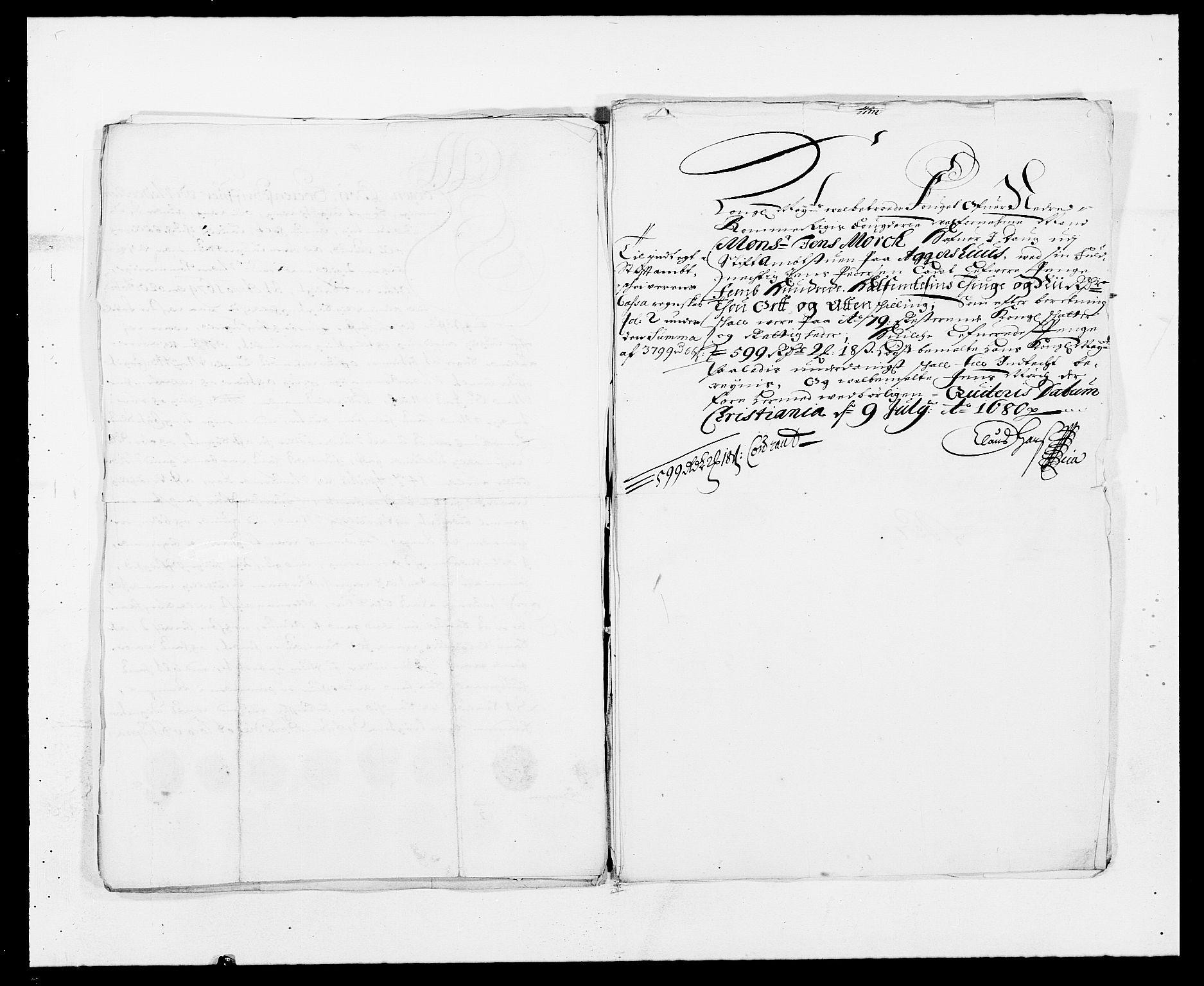RA, Rentekammeret inntil 1814, Reviderte regnskaper, Fogderegnskap, R11/L0568: Fogderegnskap Nedre Romerike, 1679, s. 274
