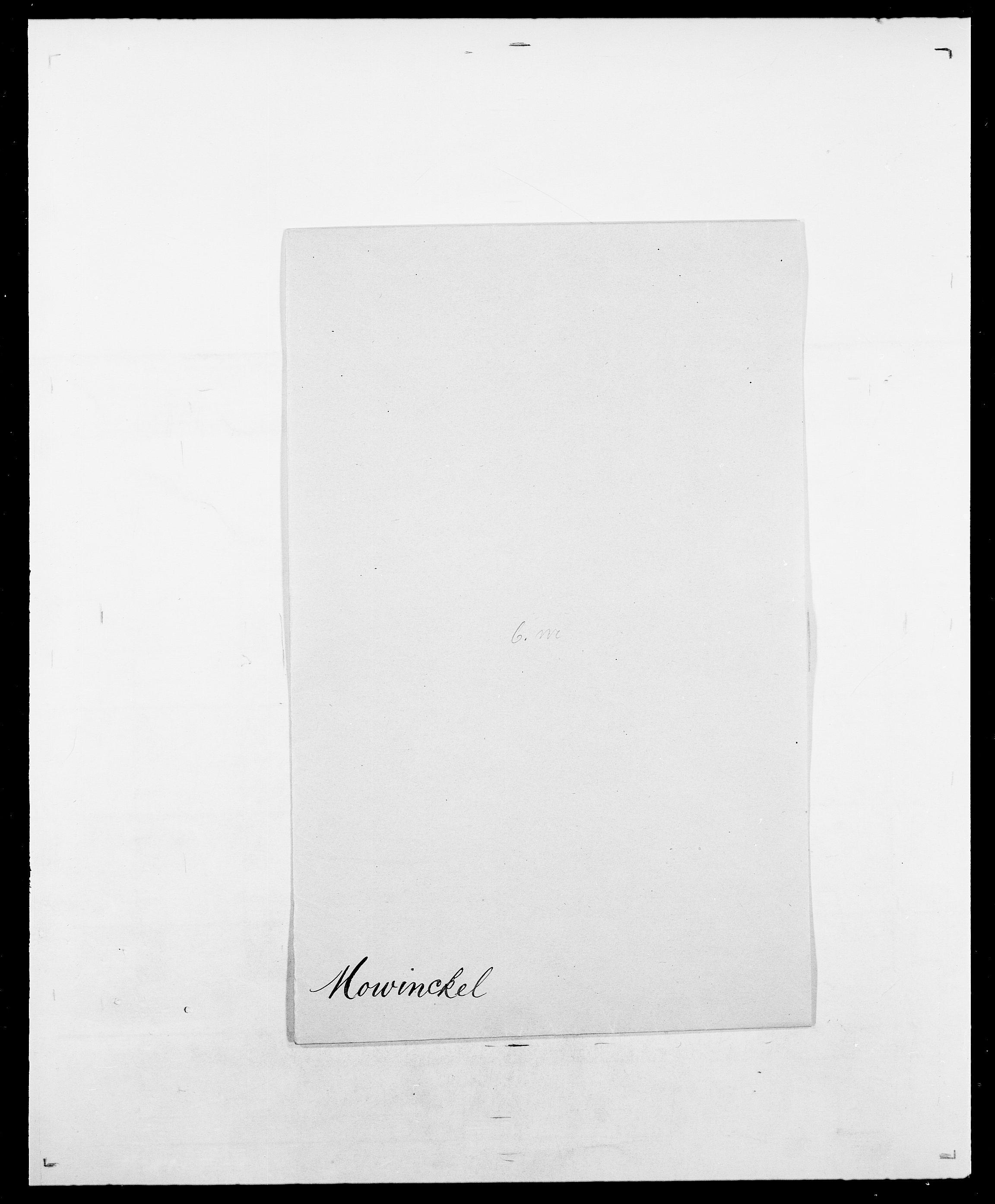SAO, Delgobe, Charles Antoine - samling, D/Da/L0027: Morath - v. Møsting, s. 111
