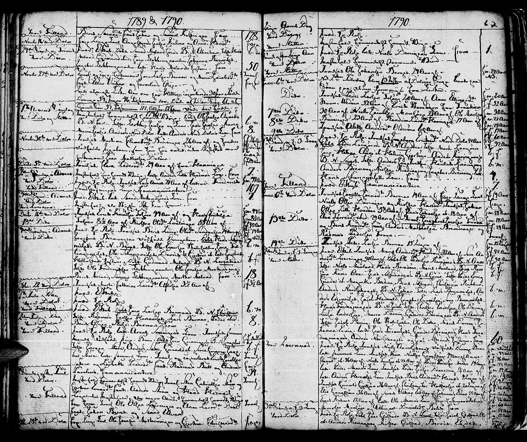 SAT, Ministerialprotokoller, klokkerbøker og fødselsregistre - Sør-Trøndelag, 634/L0526: Ministerialbok nr. 634A02, 1775-1818, s. 67
