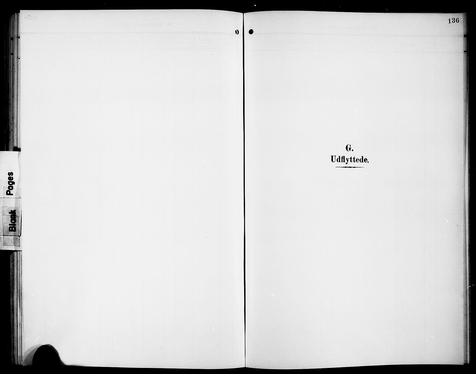 SAB, Hyllestad Sokneprestembete, Klokkerbok nr. A 3, 1906-1925, s. 136