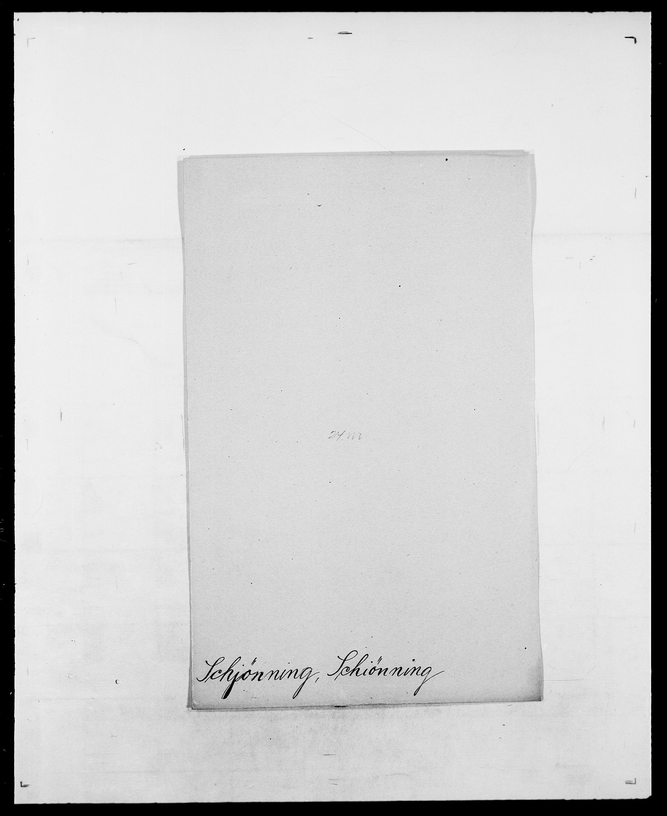 SAO, Delgobe, Charles Antoine - samling, D/Da/L0034: Saabye - Schmincke, s. 776