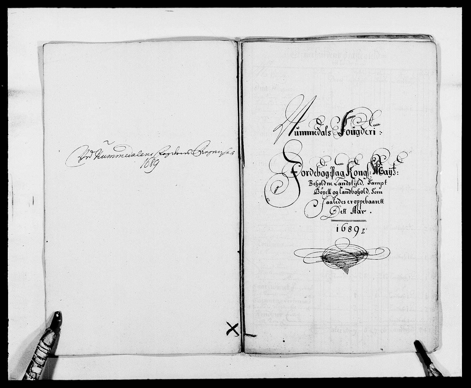RA, Rentekammeret inntil 1814, Reviderte regnskaper, Fogderegnskap, R64/L4422: Fogderegnskap Namdal, 1687-1689, s. 257