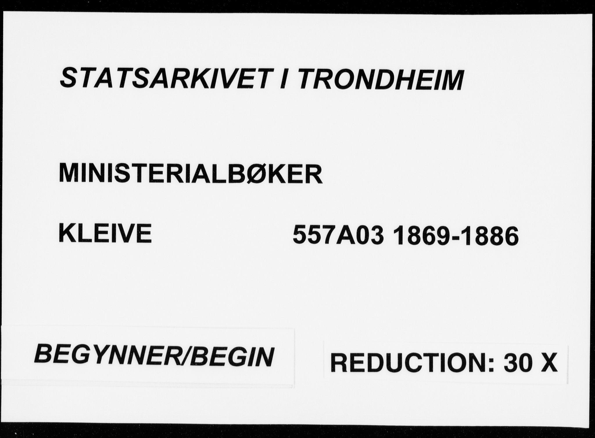SAT, Ministerialprotokoller, klokkerbøker og fødselsregistre - Møre og Romsdal, 557/L0681: Ministerialbok nr. 557A03, 1869-1886