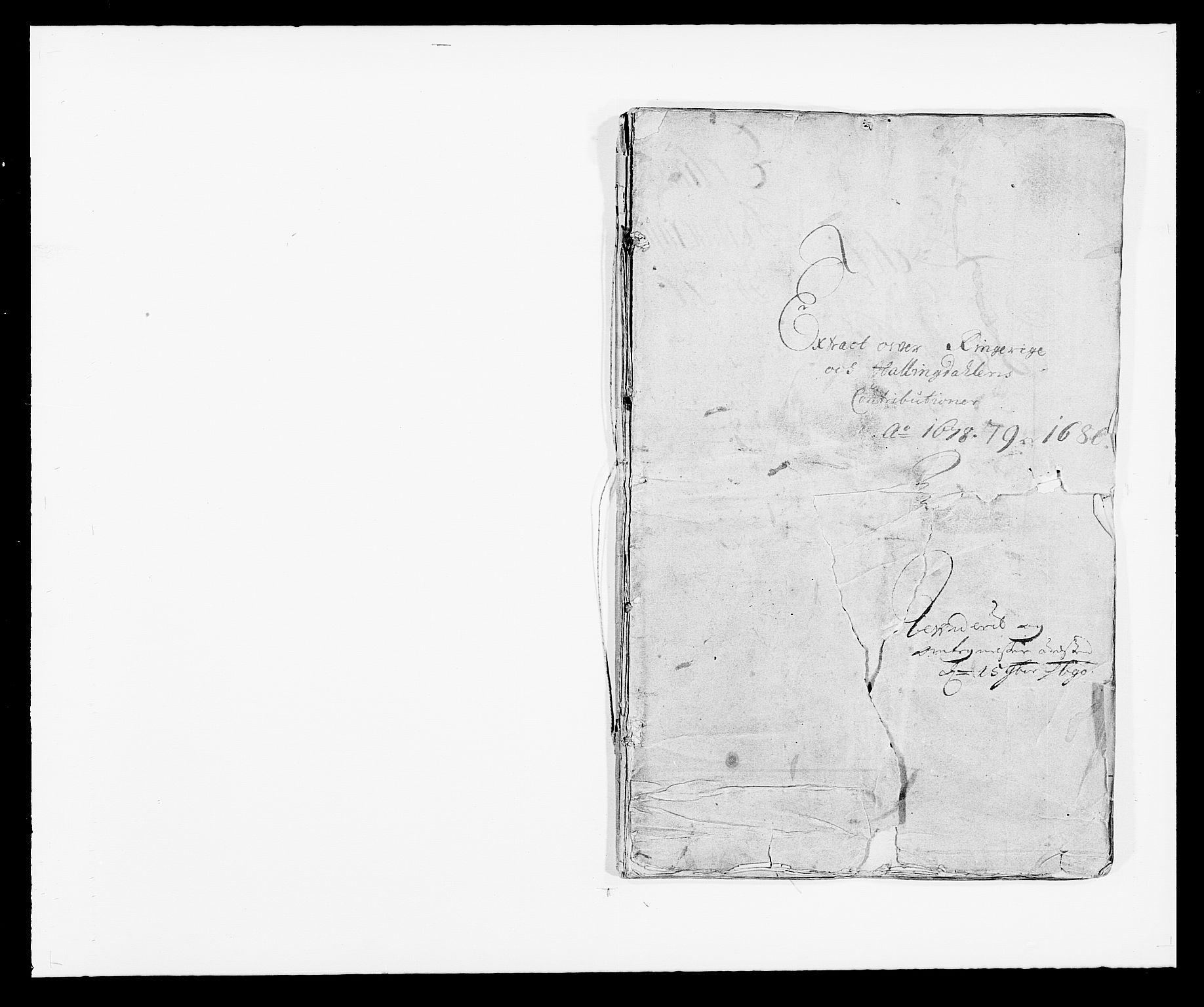 RA, Rentekammeret inntil 1814, Reviderte regnskaper, Fogderegnskap, R21/L1443: Fogderegnskap Ringerike og Hallingdal, 1678-1680, s. 1