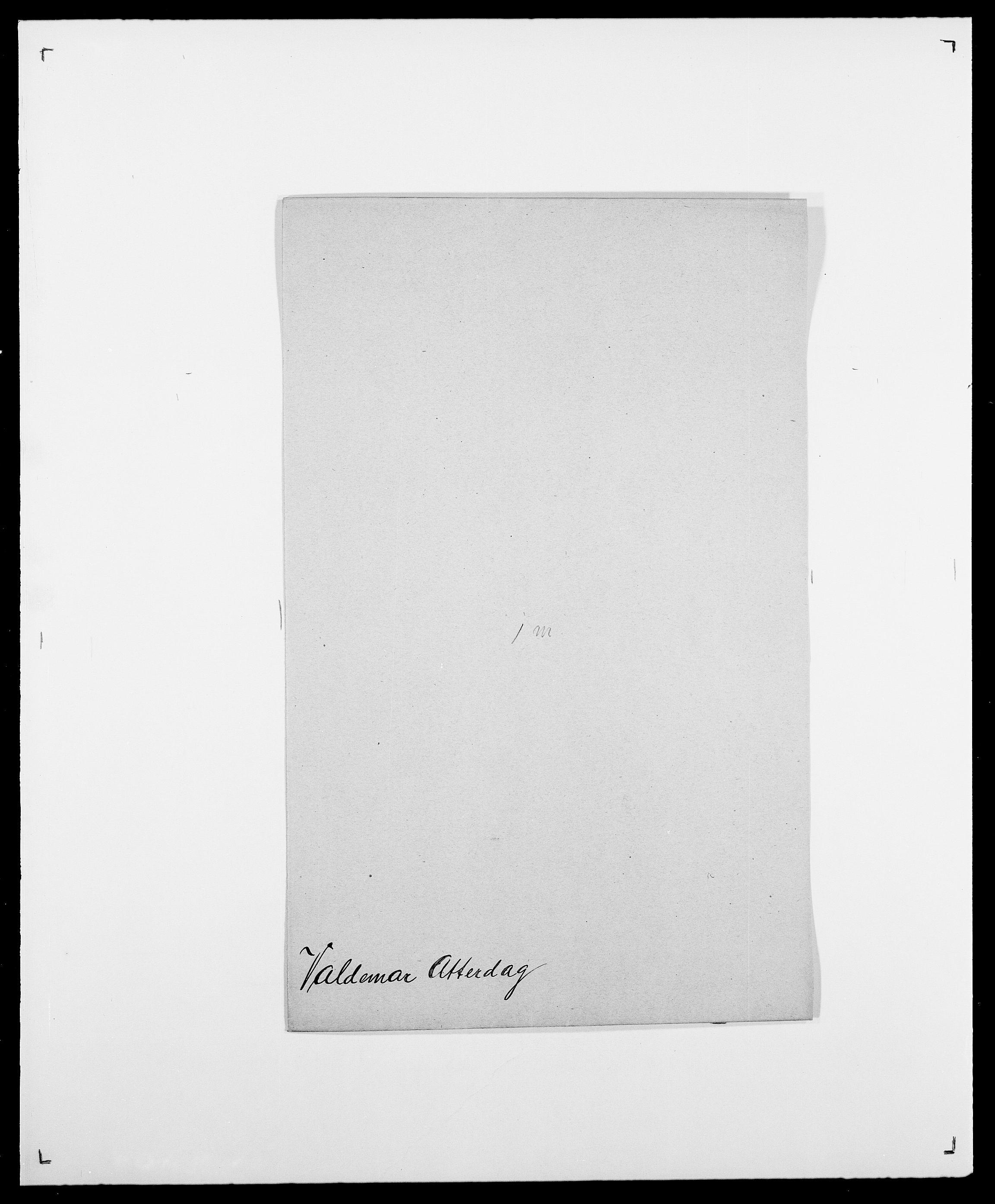 SAO, Delgobe, Charles Antoine - samling, D/Da/L0040: Usgaard - Velund, s. 133