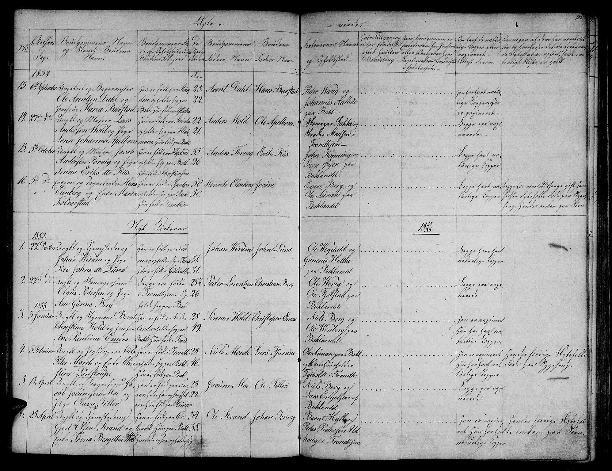 SAT, Ministerialprotokoller, klokkerbøker og fødselsregistre - Sør-Trøndelag, 604/L0182: Ministerialbok nr. 604A03, 1818-1850, s. 102