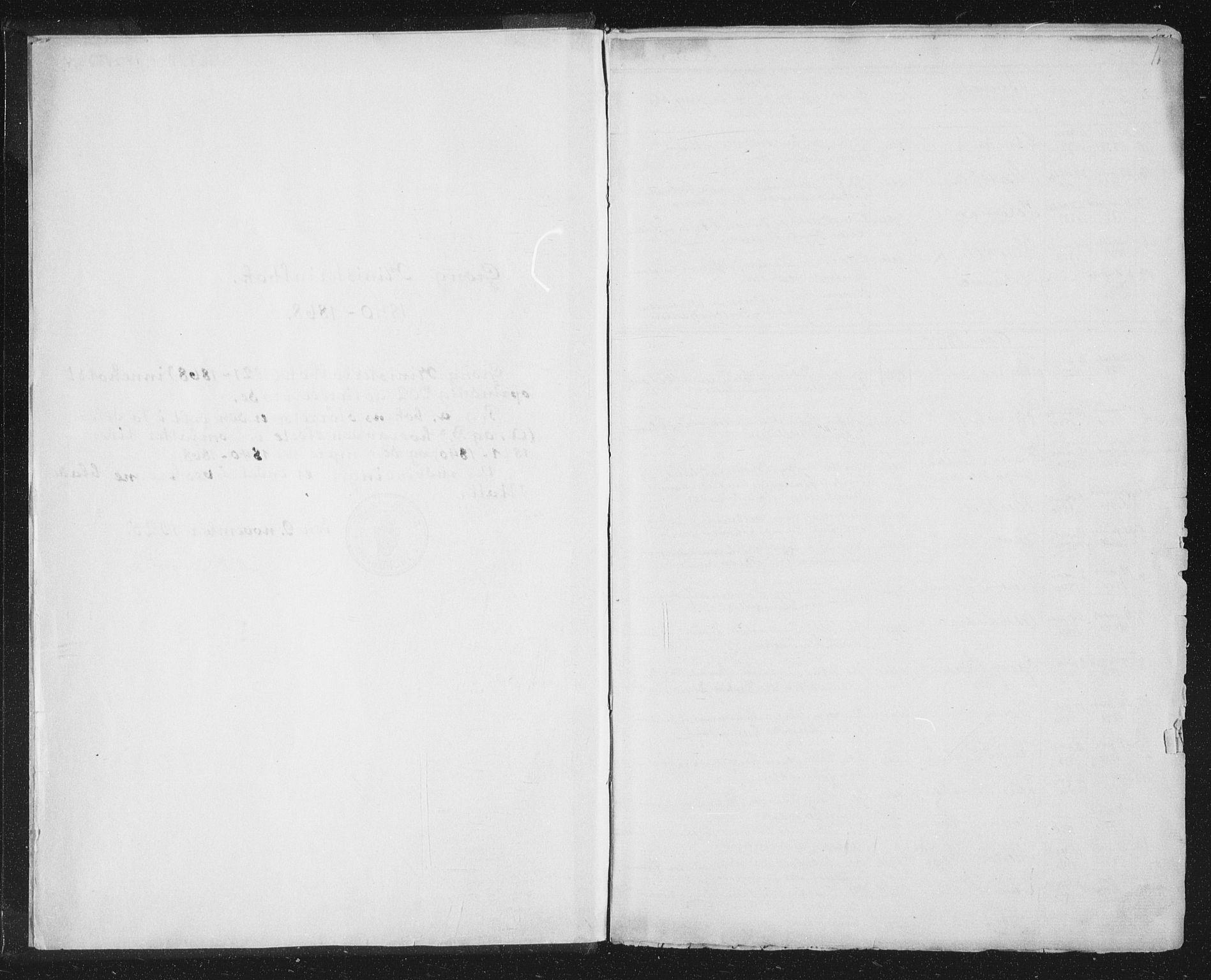SAT, Ministerialprotokoller, klokkerbøker og fødselsregistre - Nord-Trøndelag, 758/L0513: Ministerialbok nr. 758A02 /1, 1839-1868, s. 1