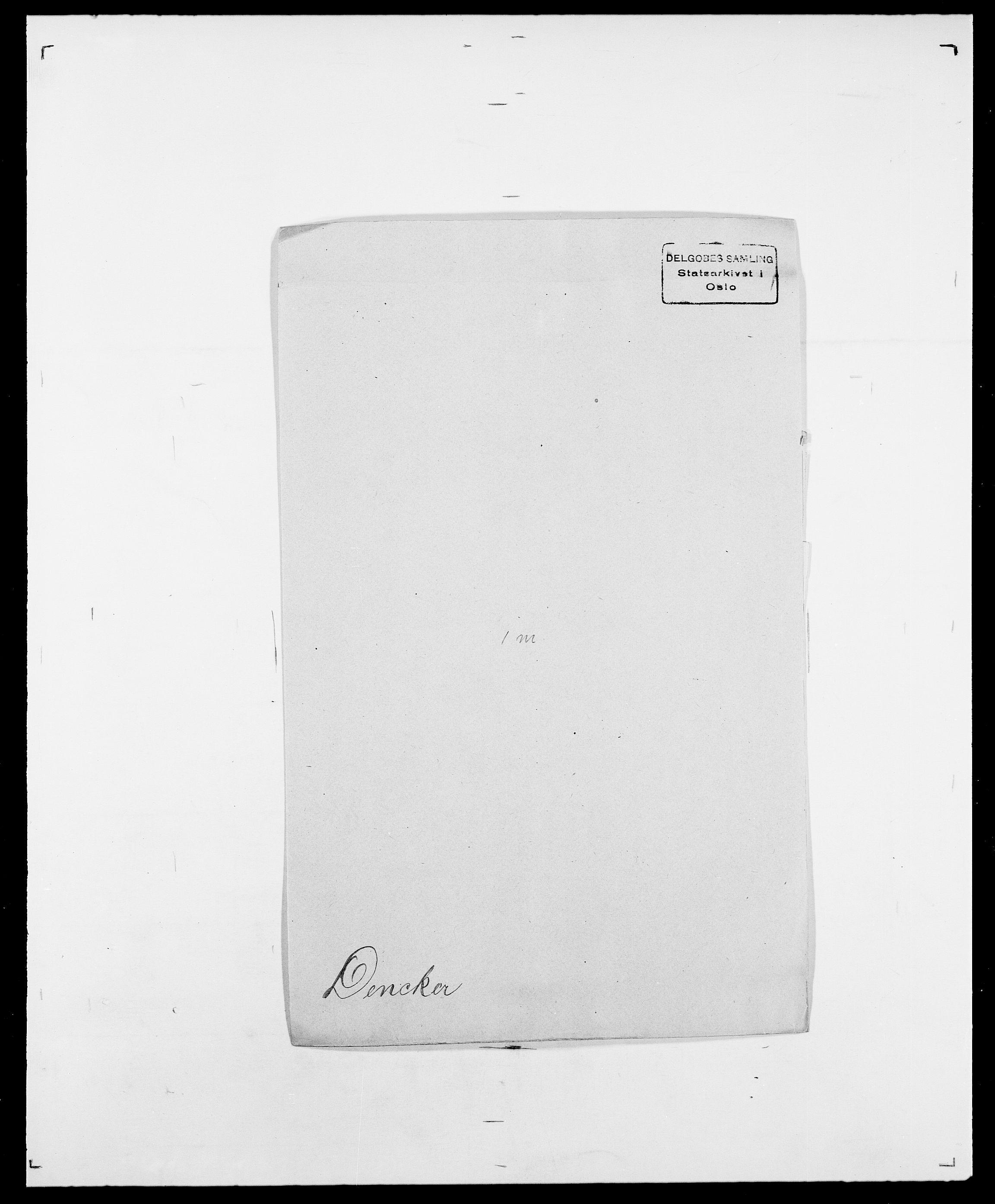 SAO, Delgobe, Charles Antoine - samling, D/Da/L0009: Dahl - v. Düren, s. 491