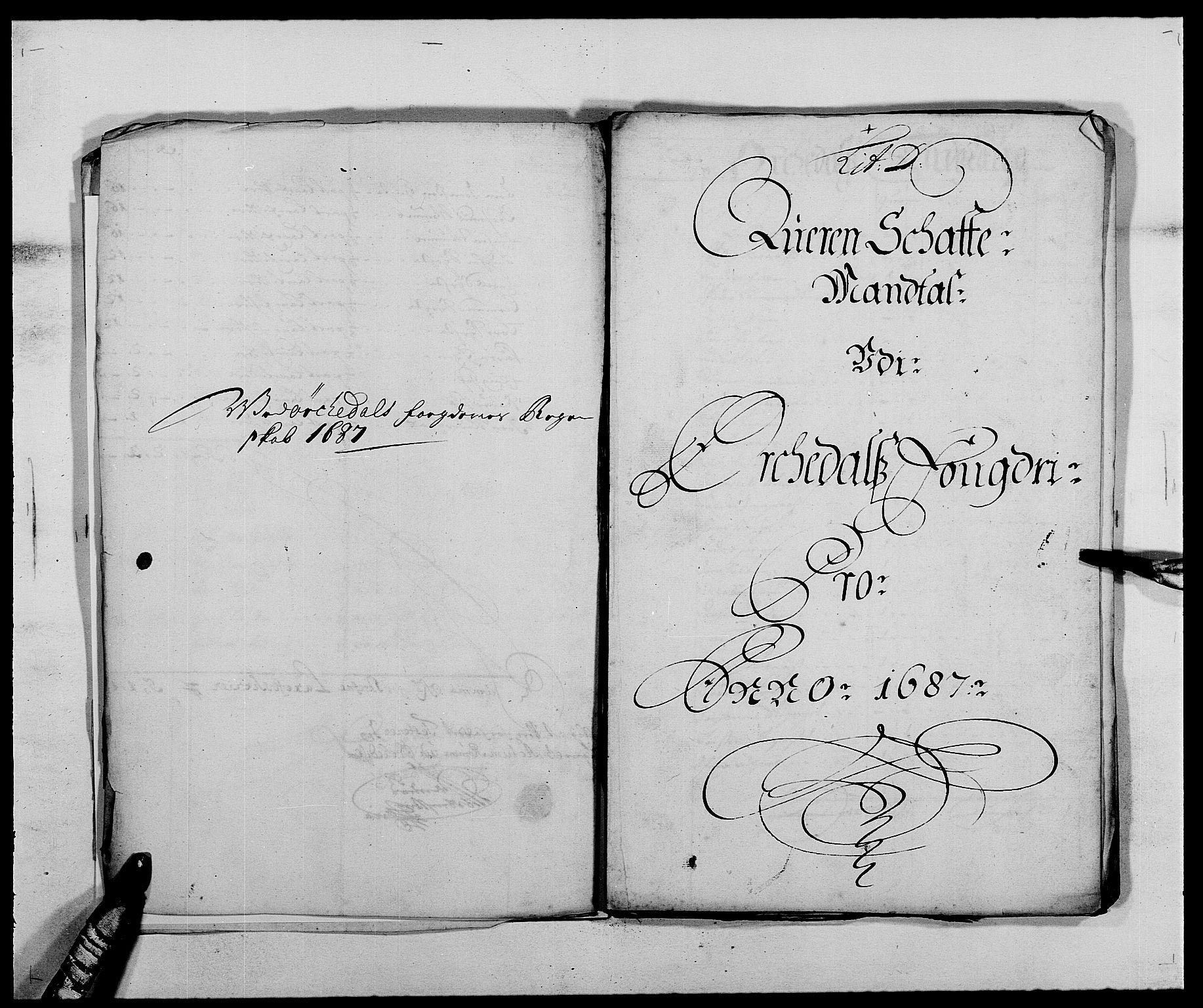 RA, Rentekammeret inntil 1814, Reviderte regnskaper, Fogderegnskap, R58/L3935: Fogderegnskap Orkdal, 1687-1688, s. 68