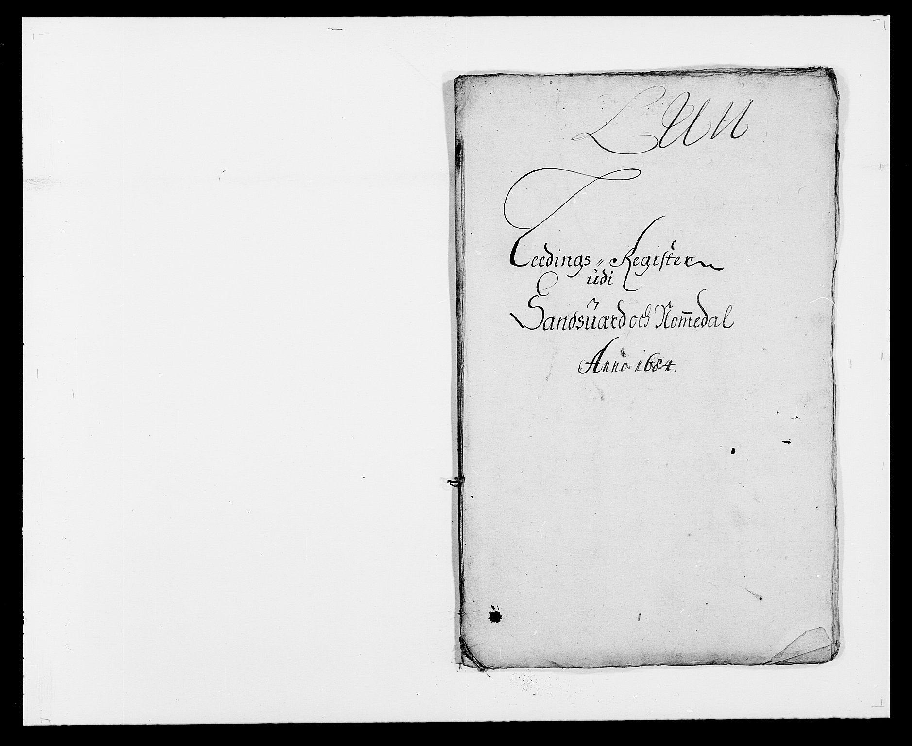 RA, Rentekammeret inntil 1814, Reviderte regnskaper, Fogderegnskap, R24/L1571: Fogderegnskap Numedal og Sandsvær, 1679-1686, s. 3