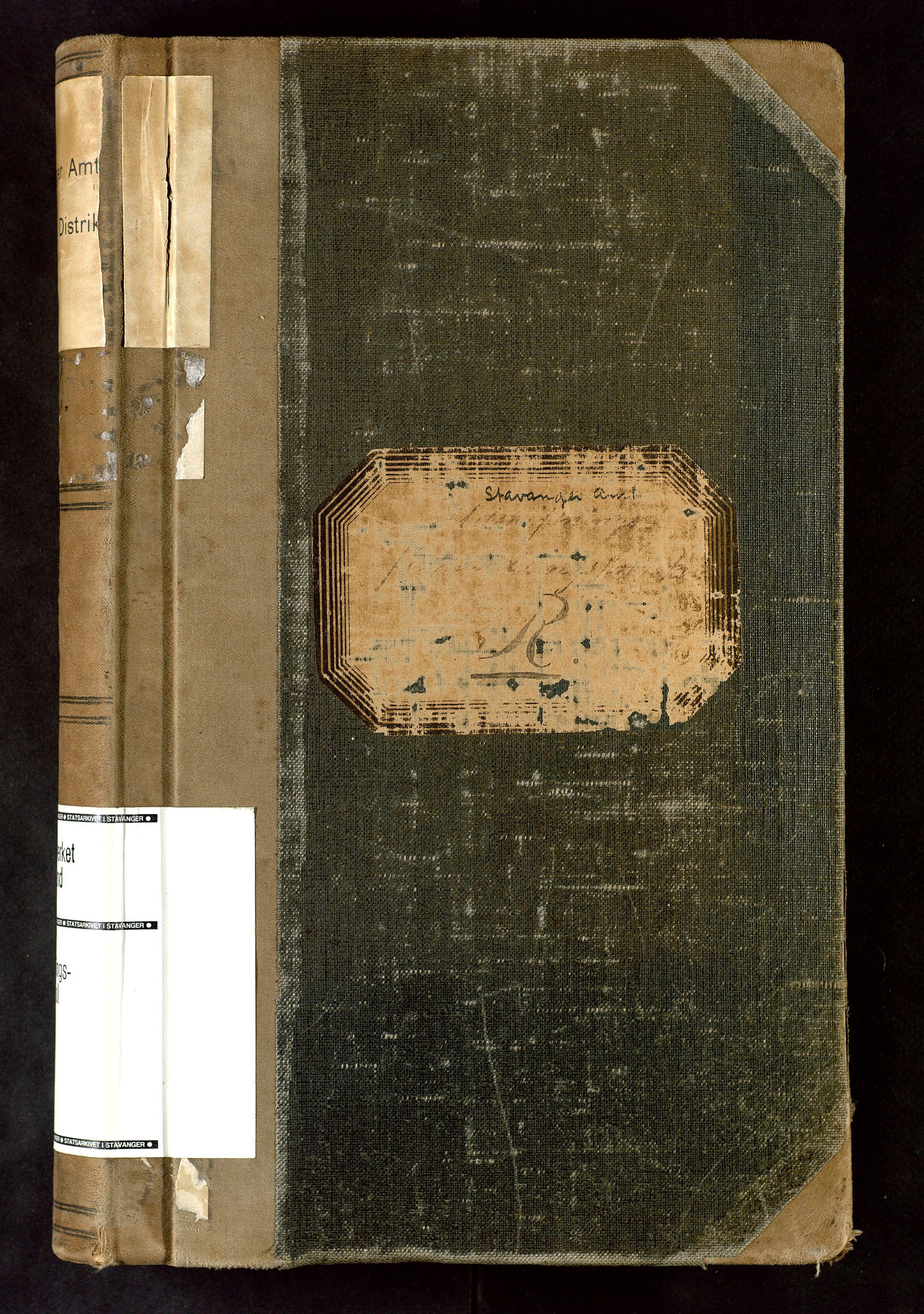 SAST, Rogaland jordskifterett, Oa/L0051: Forhandlingsprotokoll, 1894-1897