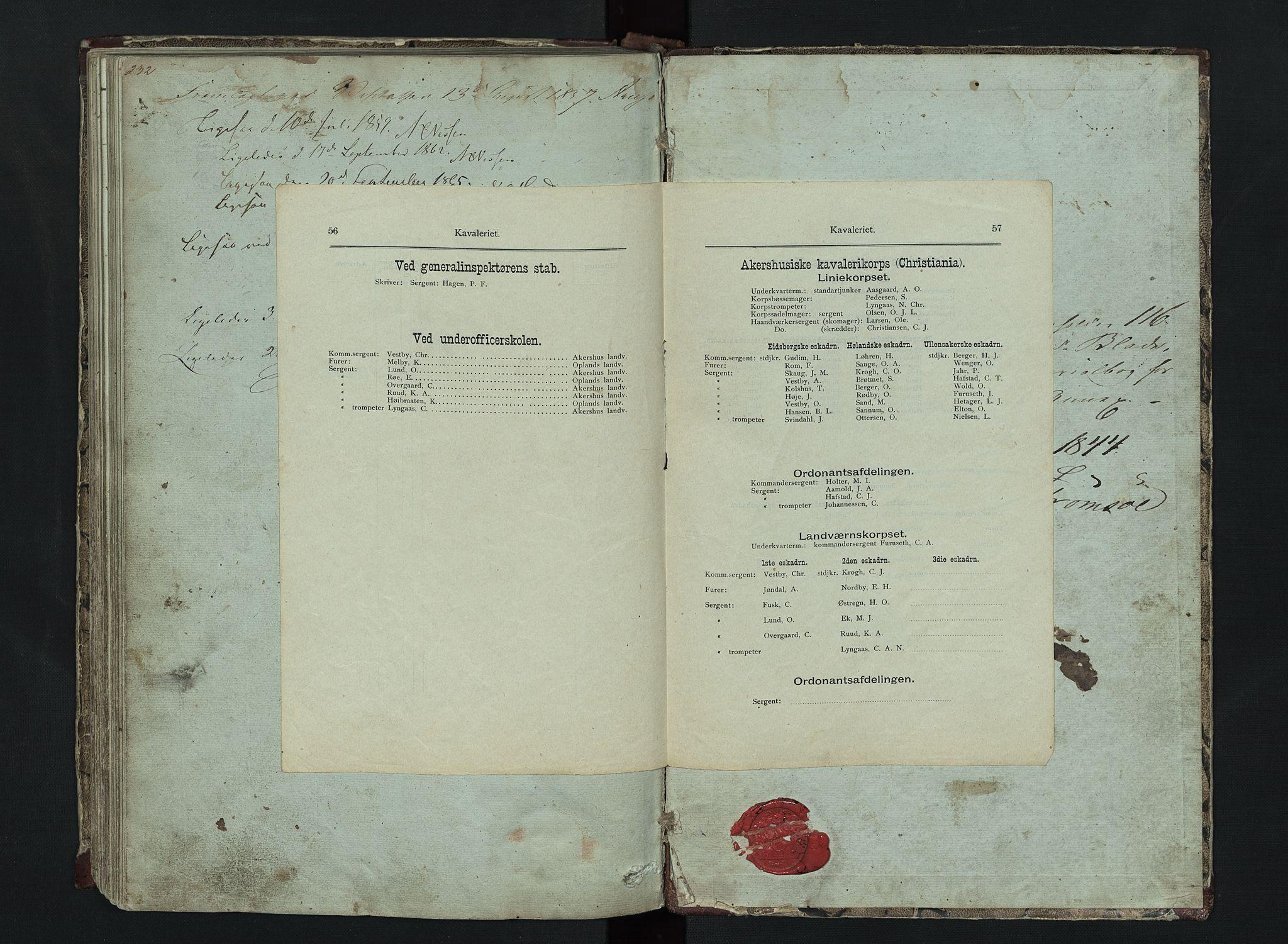 SAH, Lom prestekontor, L/L0014: Klokkerbok nr. 14, 1845-1876