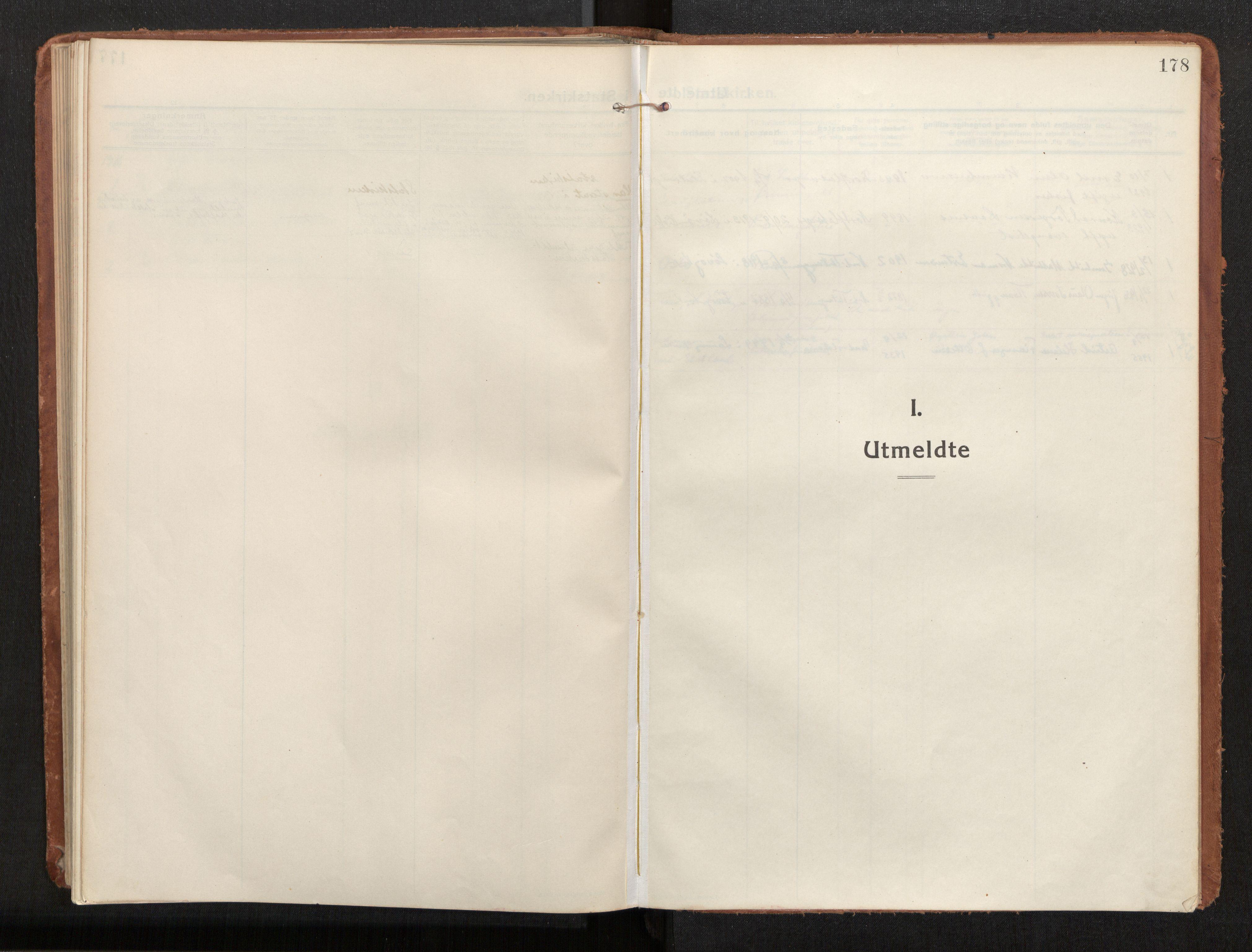 SAT, Ministerialprotokoller, klokkerbøker og fødselsregistre - Nord-Trøndelag, 772/L0604: Ministerialbok nr. 772A02, 1913-1937, s. 178