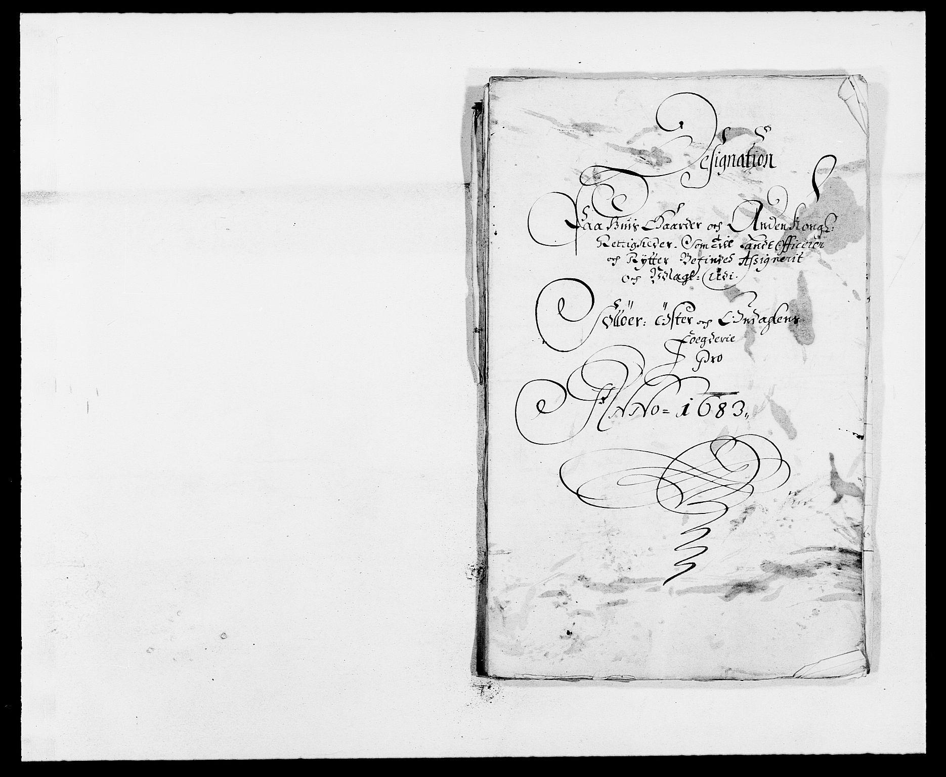 RA, Rentekammeret inntil 1814, Reviderte regnskaper, Fogderegnskap, R13/L0820: Fogderegnskap Solør, Odal og Østerdal, 1683, s. 255