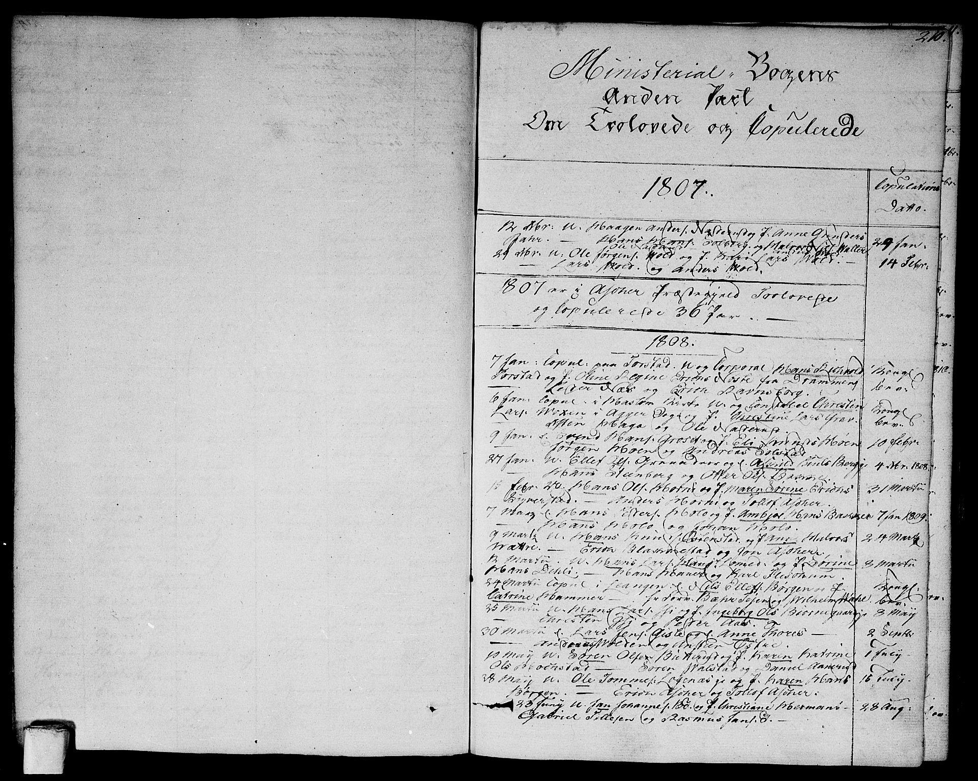 SAO, Asker prestekontor Kirkebøker, F/Fa/L0005: Ministerialbok nr. I 5, 1807-1813, s. 210