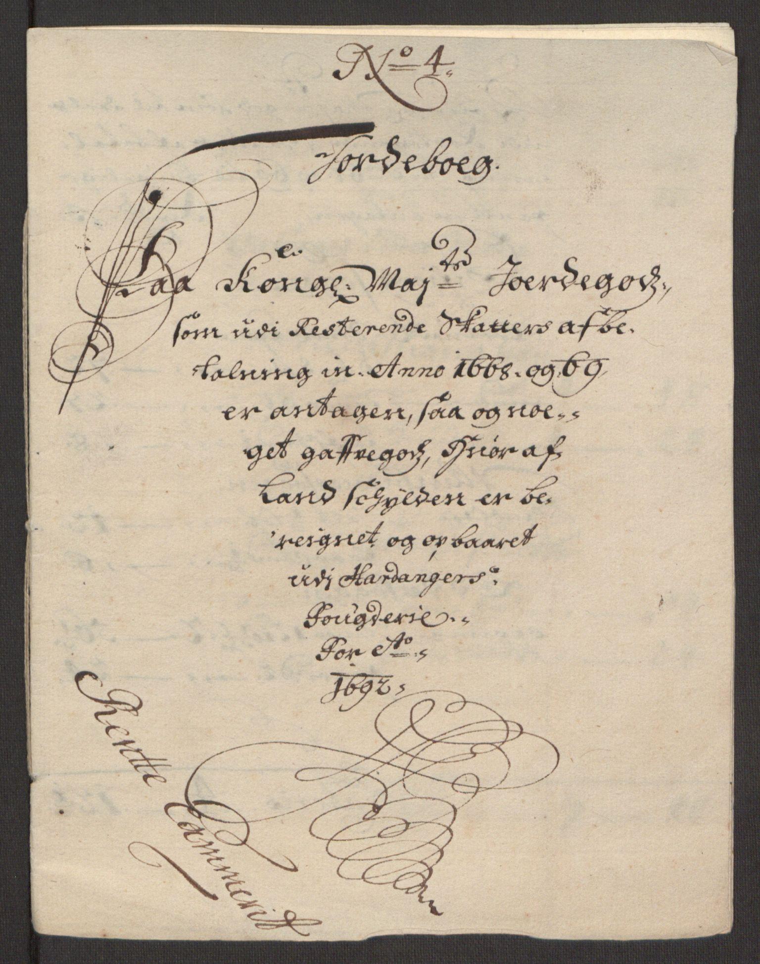 RA, Rentekammeret inntil 1814, Reviderte regnskaper, Fogderegnskap, R48/L2973: Fogderegnskap Sunnhordland og Hardanger, 1691-1692, s. 620