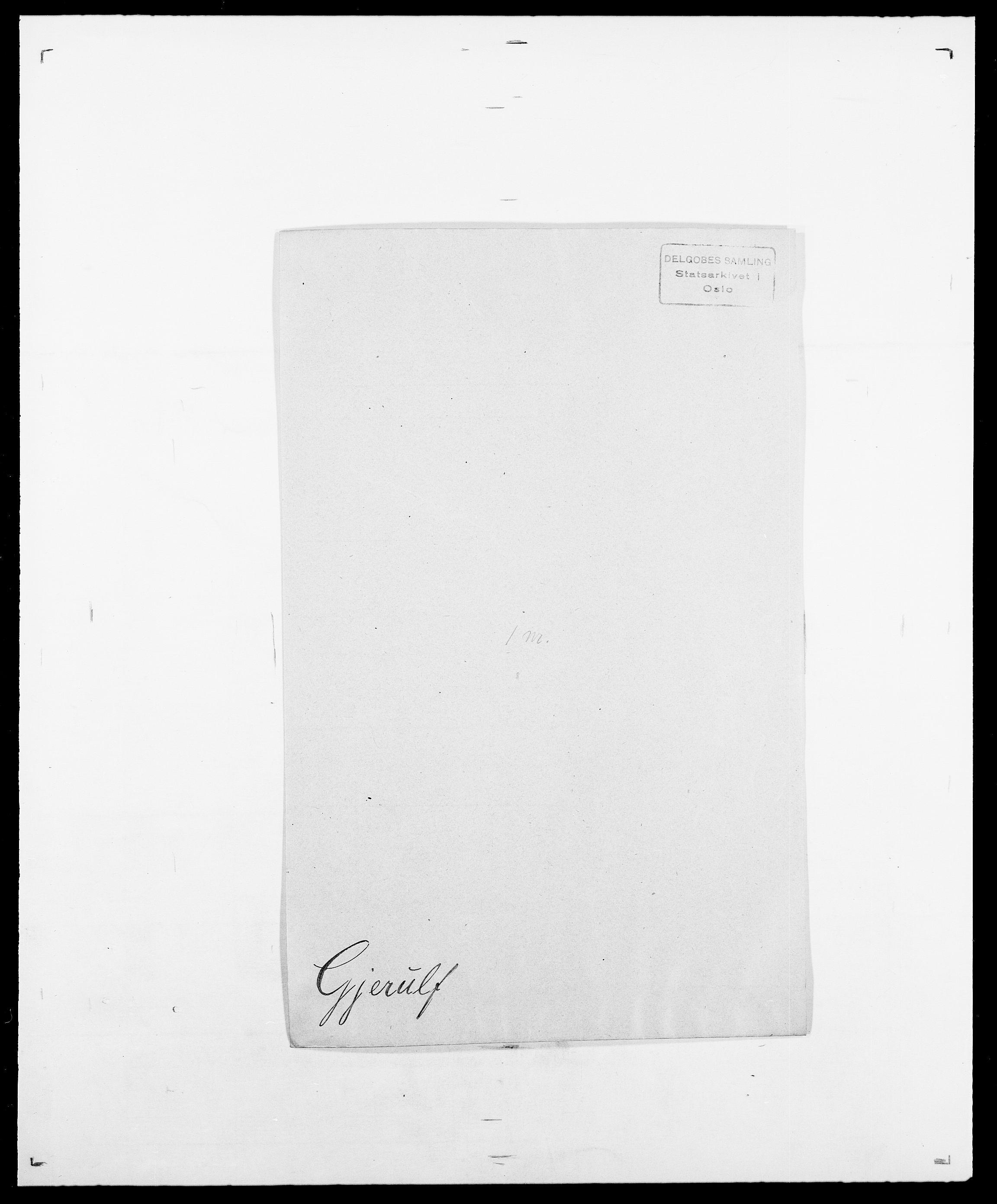SAO, Delgobe, Charles Antoine - samling, D/Da/L0014: Giebdhausen - Grip, s. 177