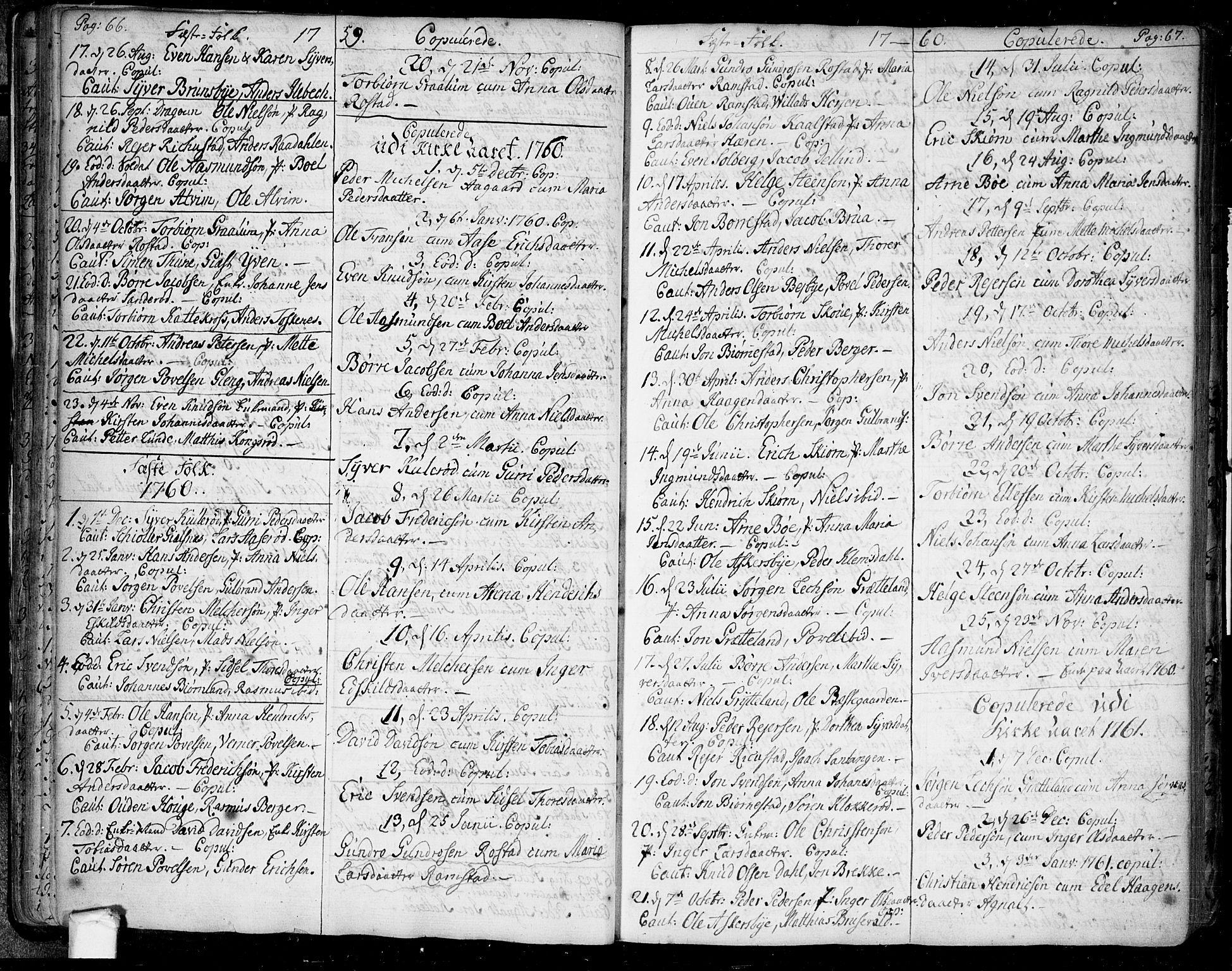 SAO, Tune prestekontor Kirkebøker, F/Fa/L0002: Ministerialbok nr. 2, 1758-1781, s. 66-67