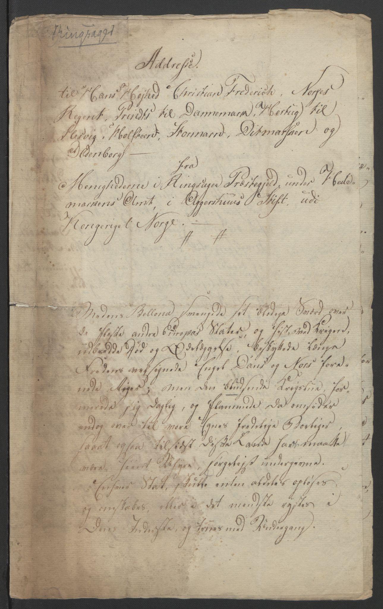 RA, Statsrådssekretariatet, D/Db/L0007: Fullmakter for Eidsvollsrepresentantene i 1814. , 1814, s. 234